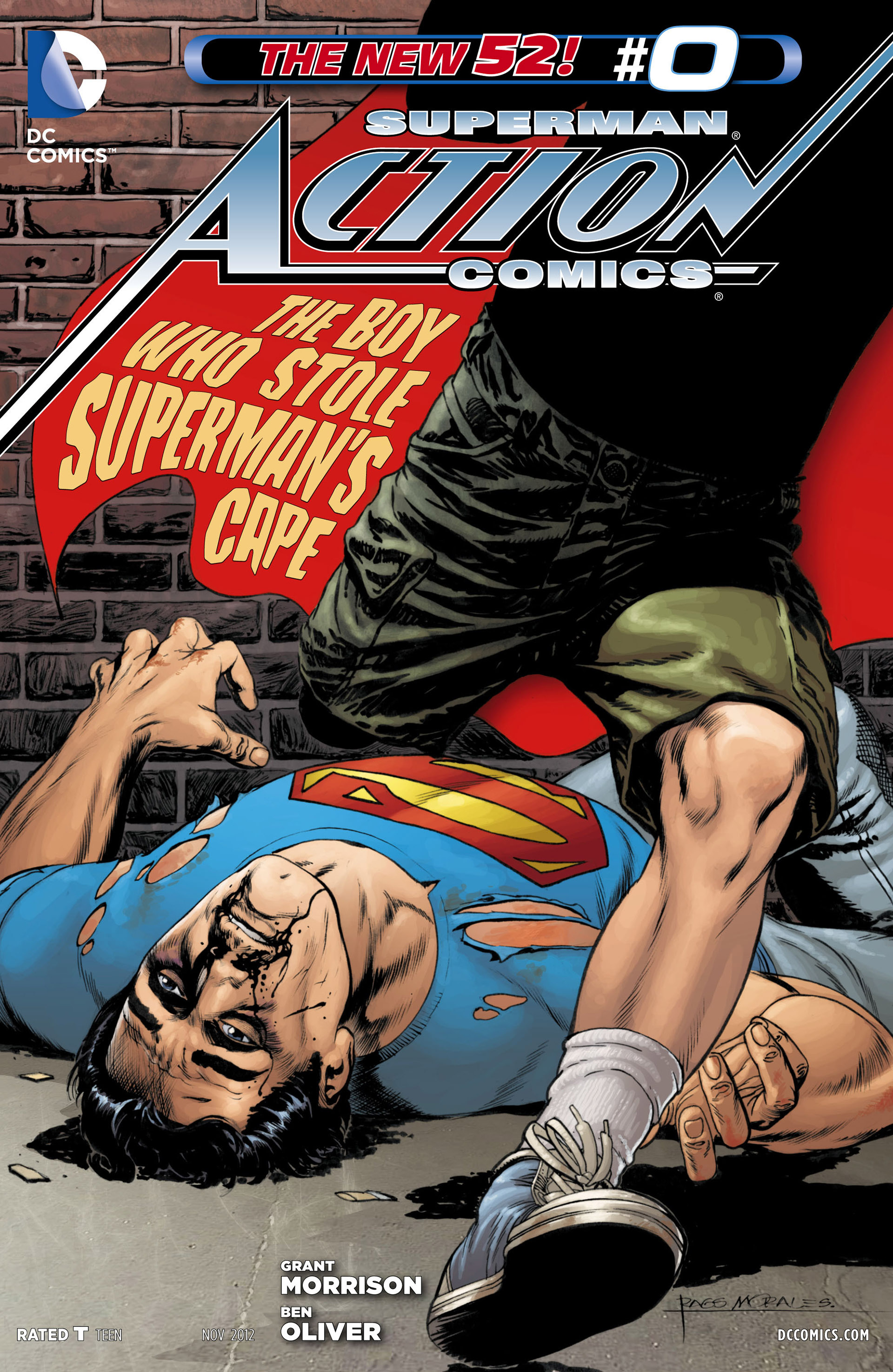 Read online Action Comics (2011) comic -  Issue #0 - 30