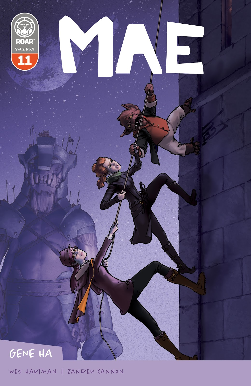 Read online Mae (2018) comic -  Issue #11 - 1