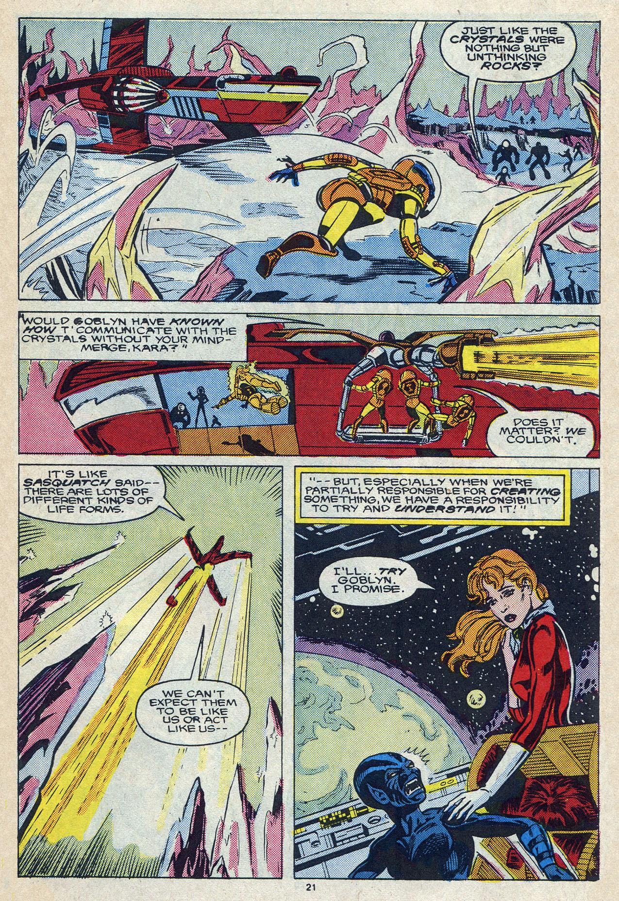 Read online Alpha Flight (1983) comic -  Issue #57 - 30