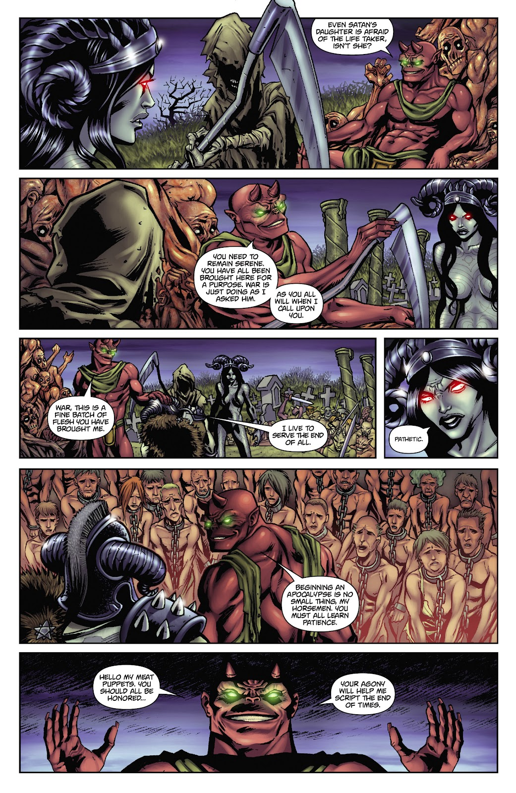 Army of Darkness: The Long Road Home issue TPB - Page 42