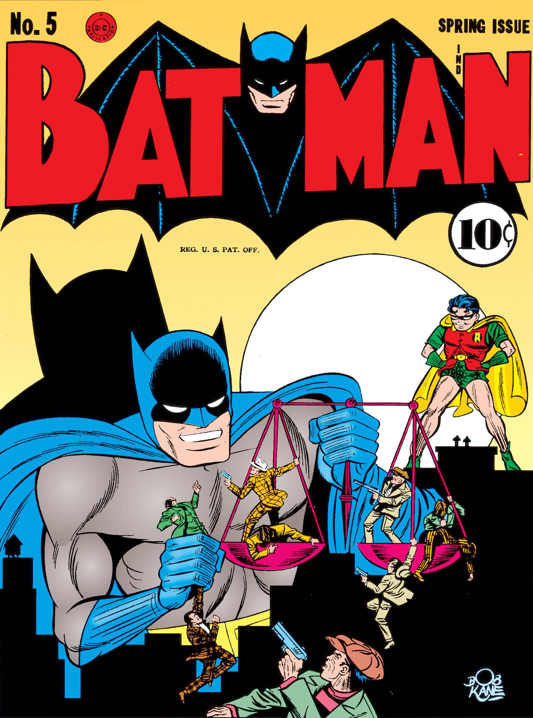 Batman (1940) 5 Page 1