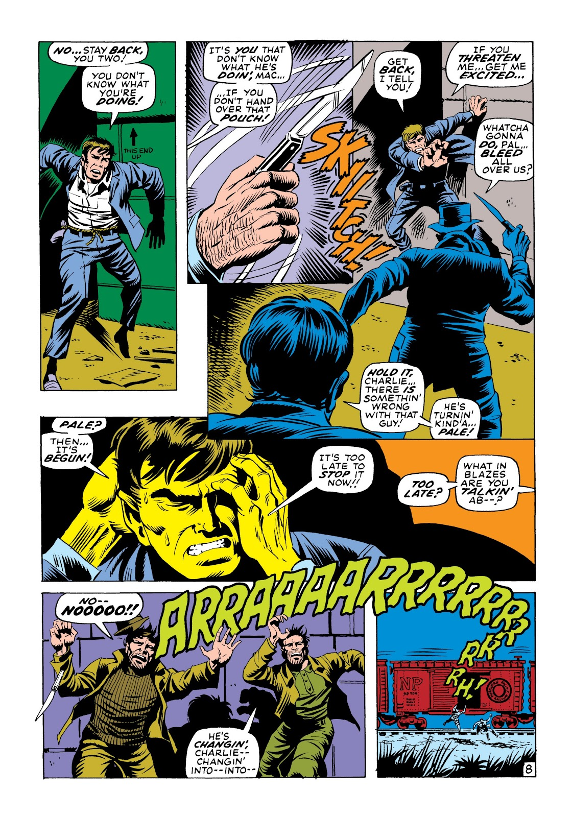 Read online Marvel Masterworks: The Incredible Hulk comic -  Issue # TPB 6 (Part 1) - 17
