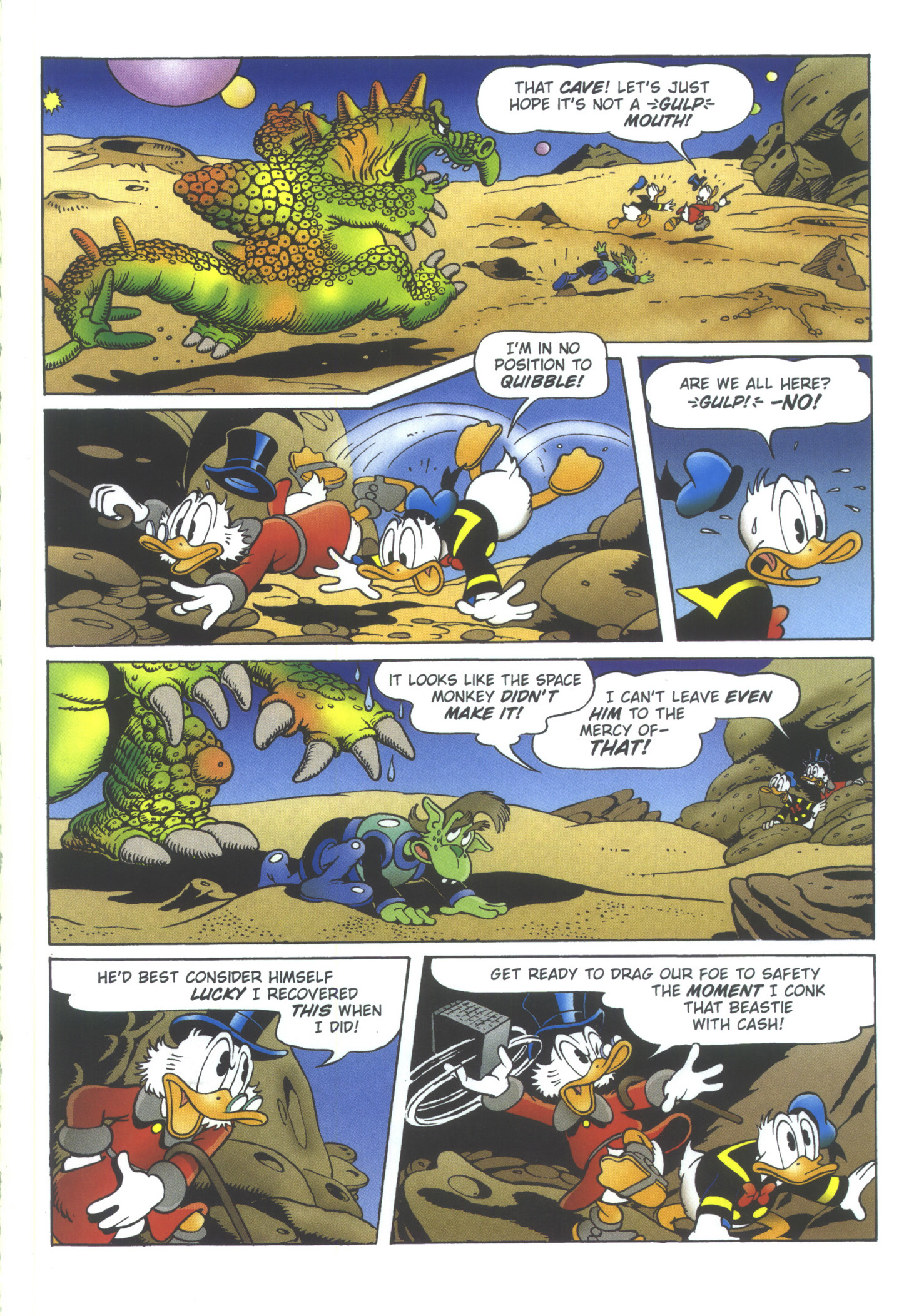 Read online Uncle Scrooge (1953) comic -  Issue #358 - 63