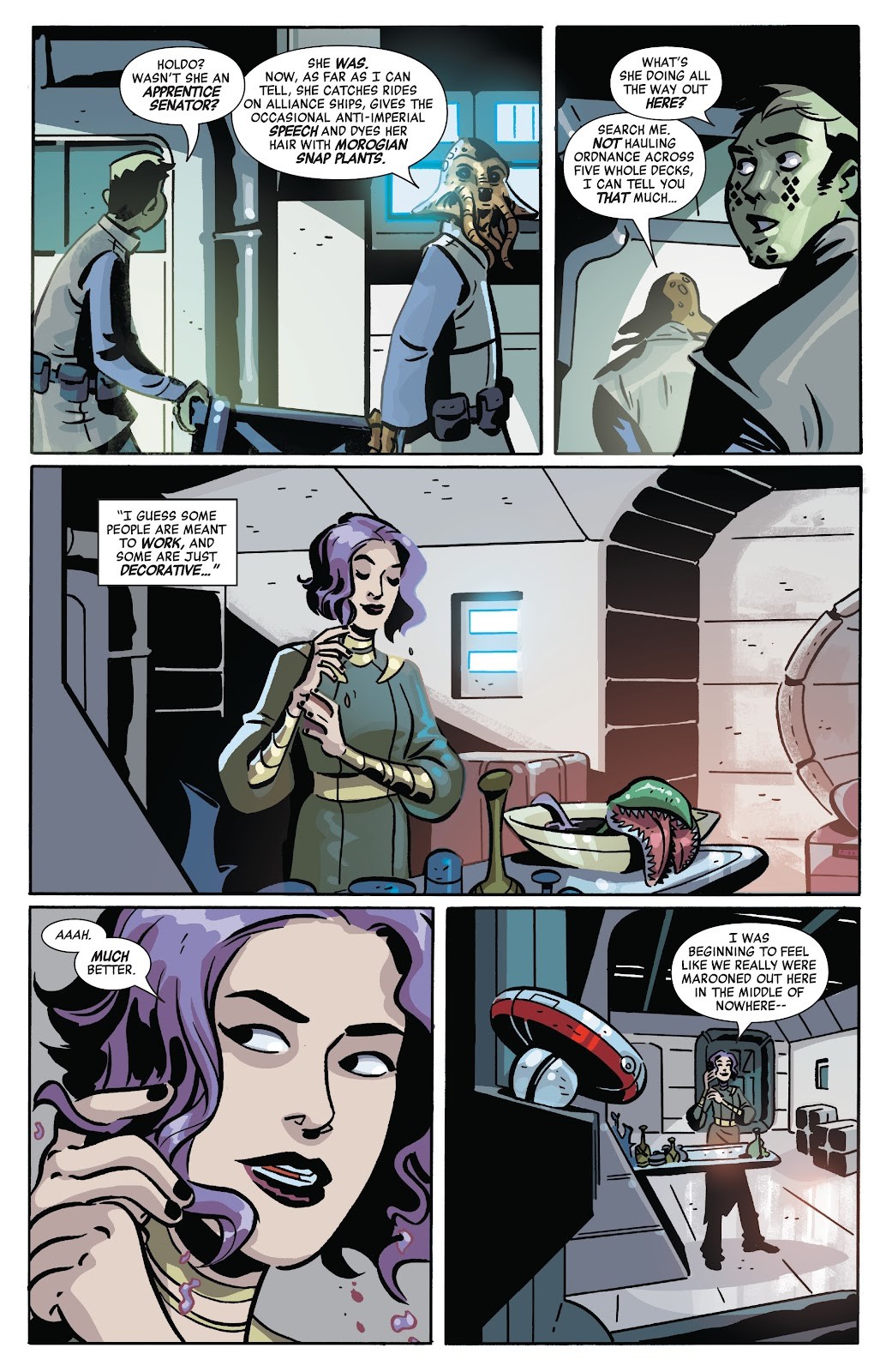 Read online Star Wars: Age of Republic: Heroes comic -  Issue # TPB - 101