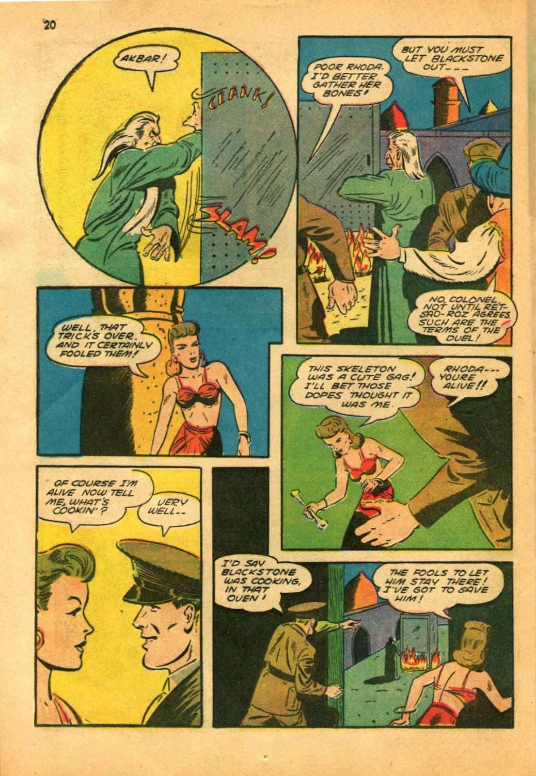 Read online Super-Magician Comics comic -  Issue #11 - 20