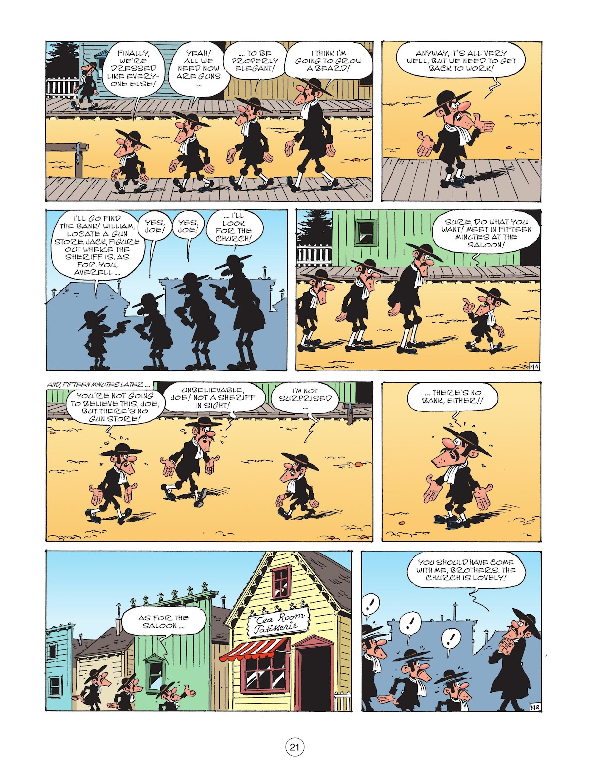 A Lucky Luke Adventure issue 73 - Page 23