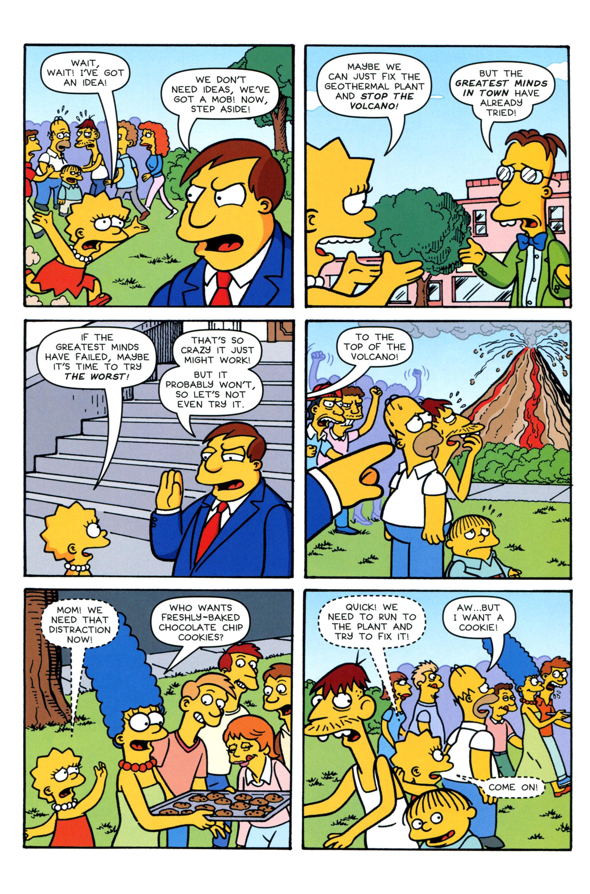 Read online Simpsons Comics comic -  Issue #206 - 19