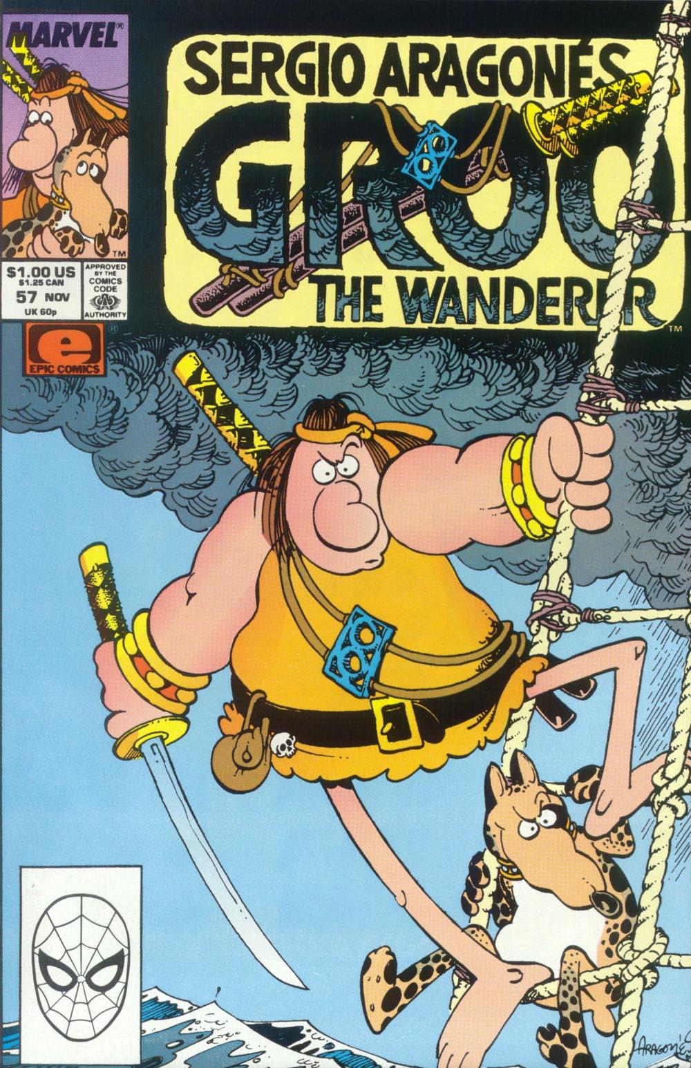 Read online Sergio Aragonés Groo the Wanderer comic -  Issue #57 - 1
