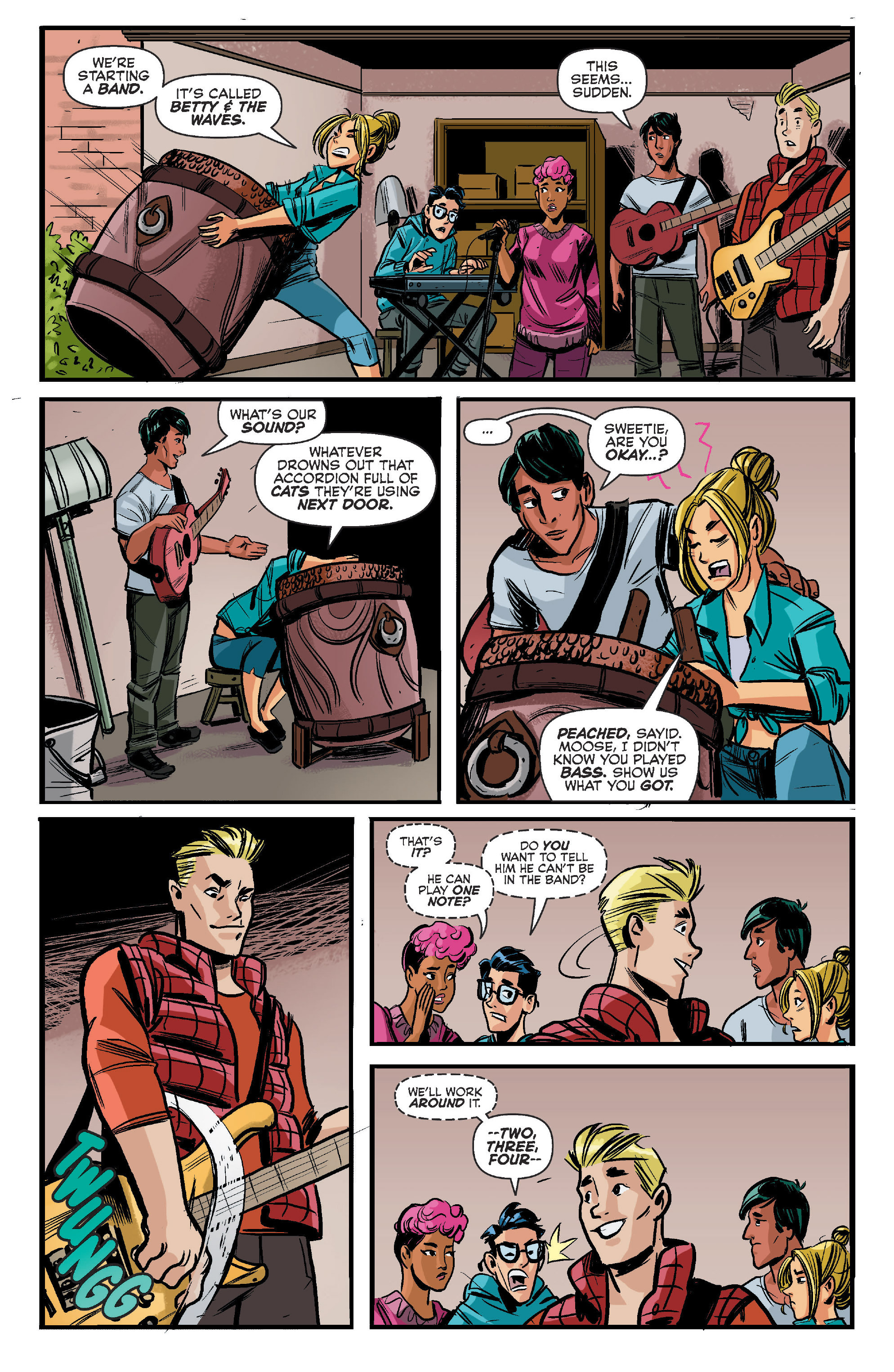 Read online Archie (2015) comic -  Issue #11 - 6