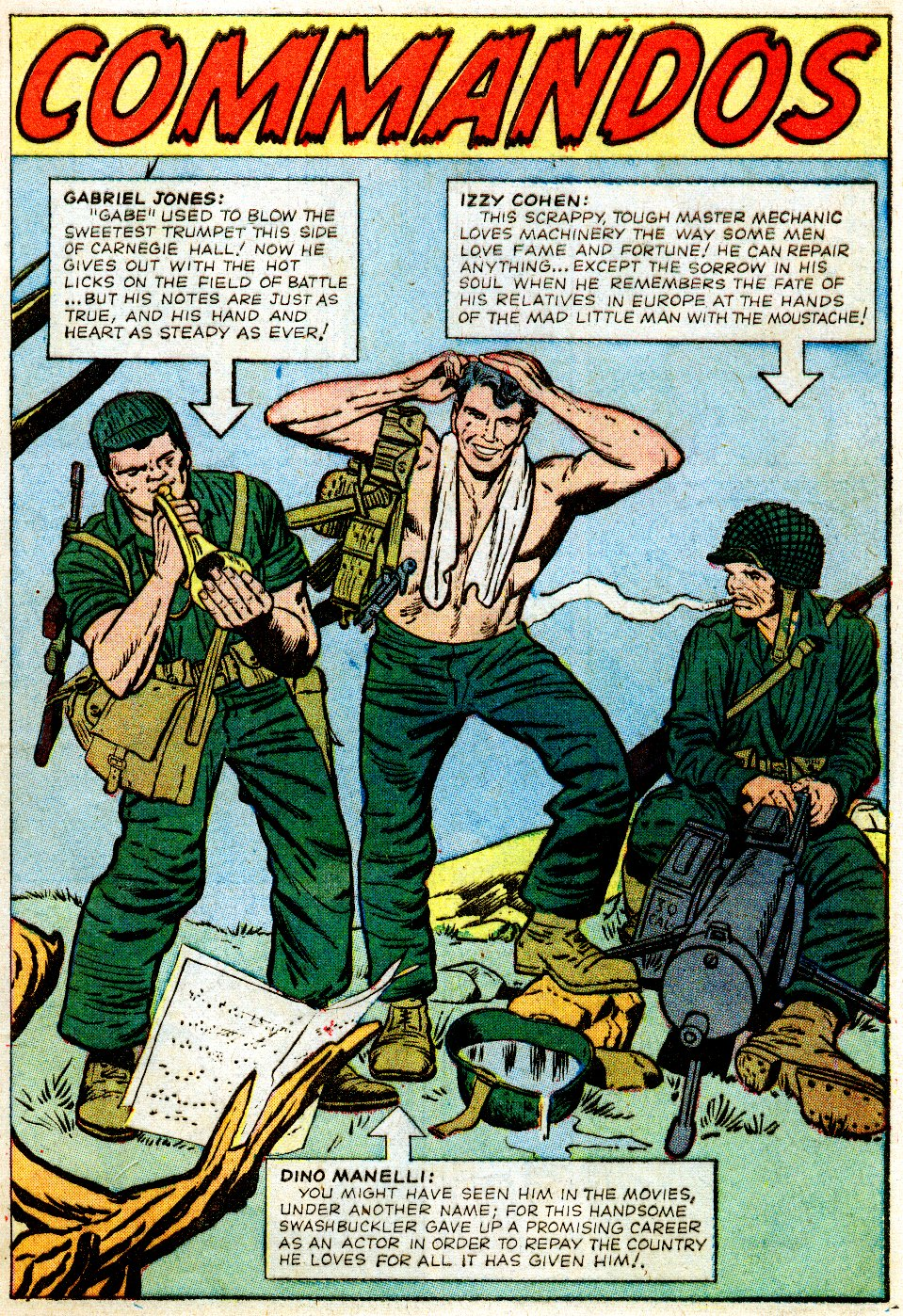 Read online Sgt. Fury comic -  Issue #1 - 5