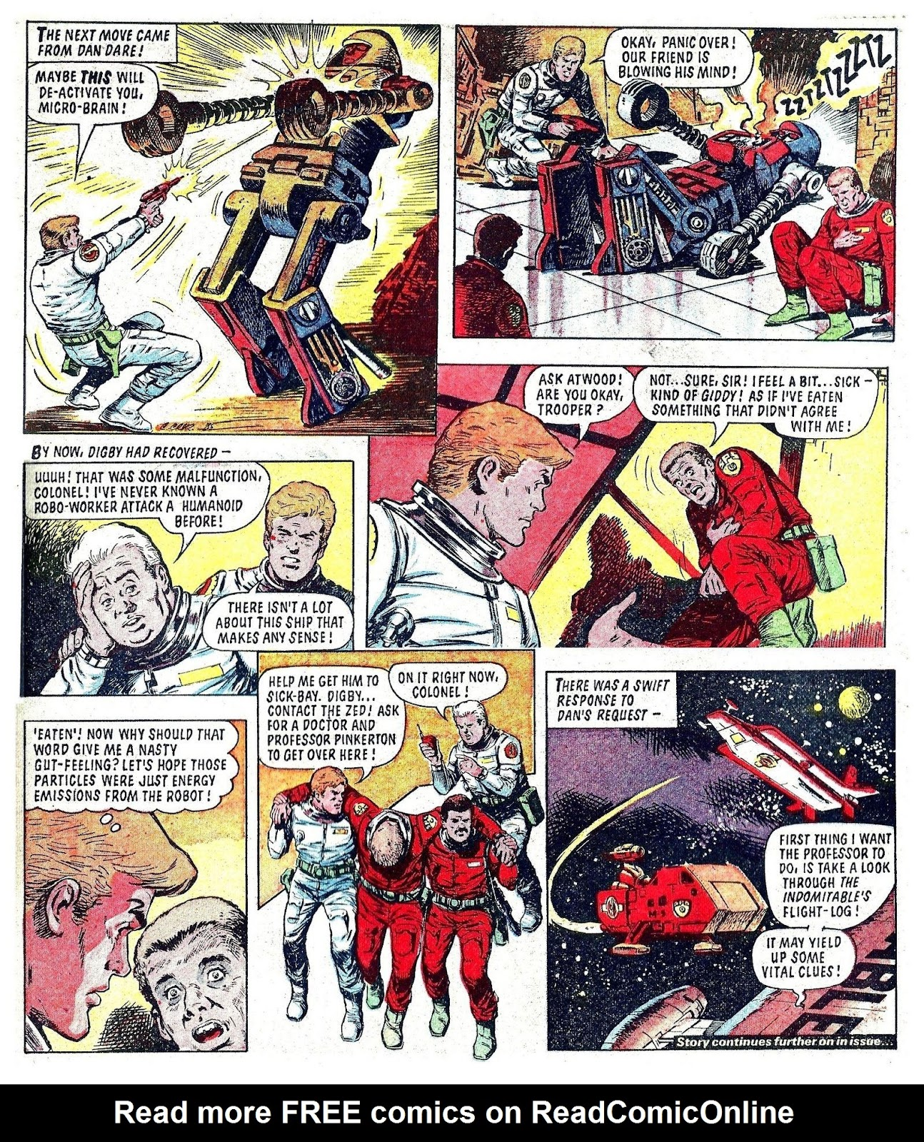 Read online Robo Machines comic -  Issue # TPB - 126