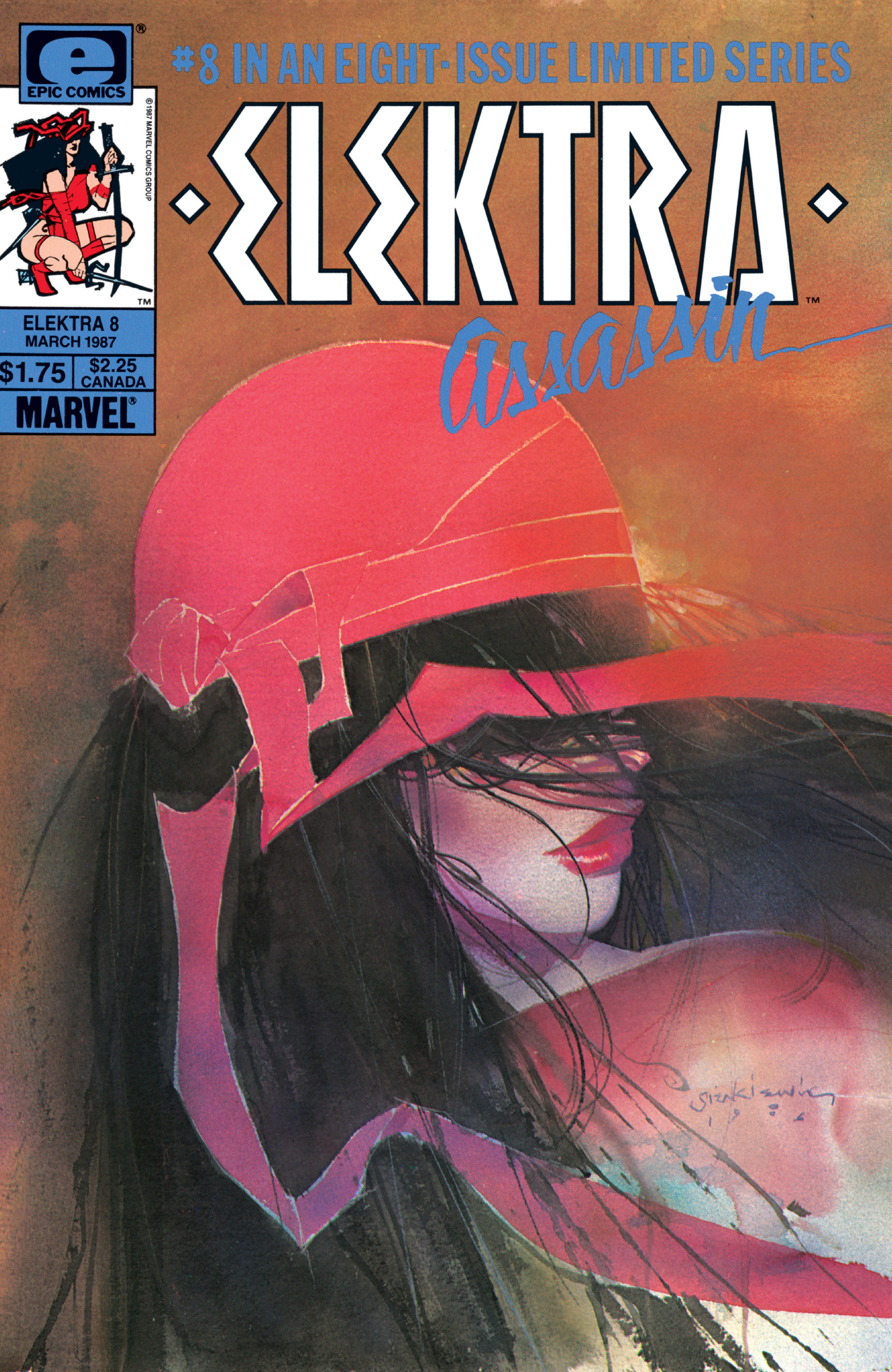 Elektra: Assassin 8 Page 1