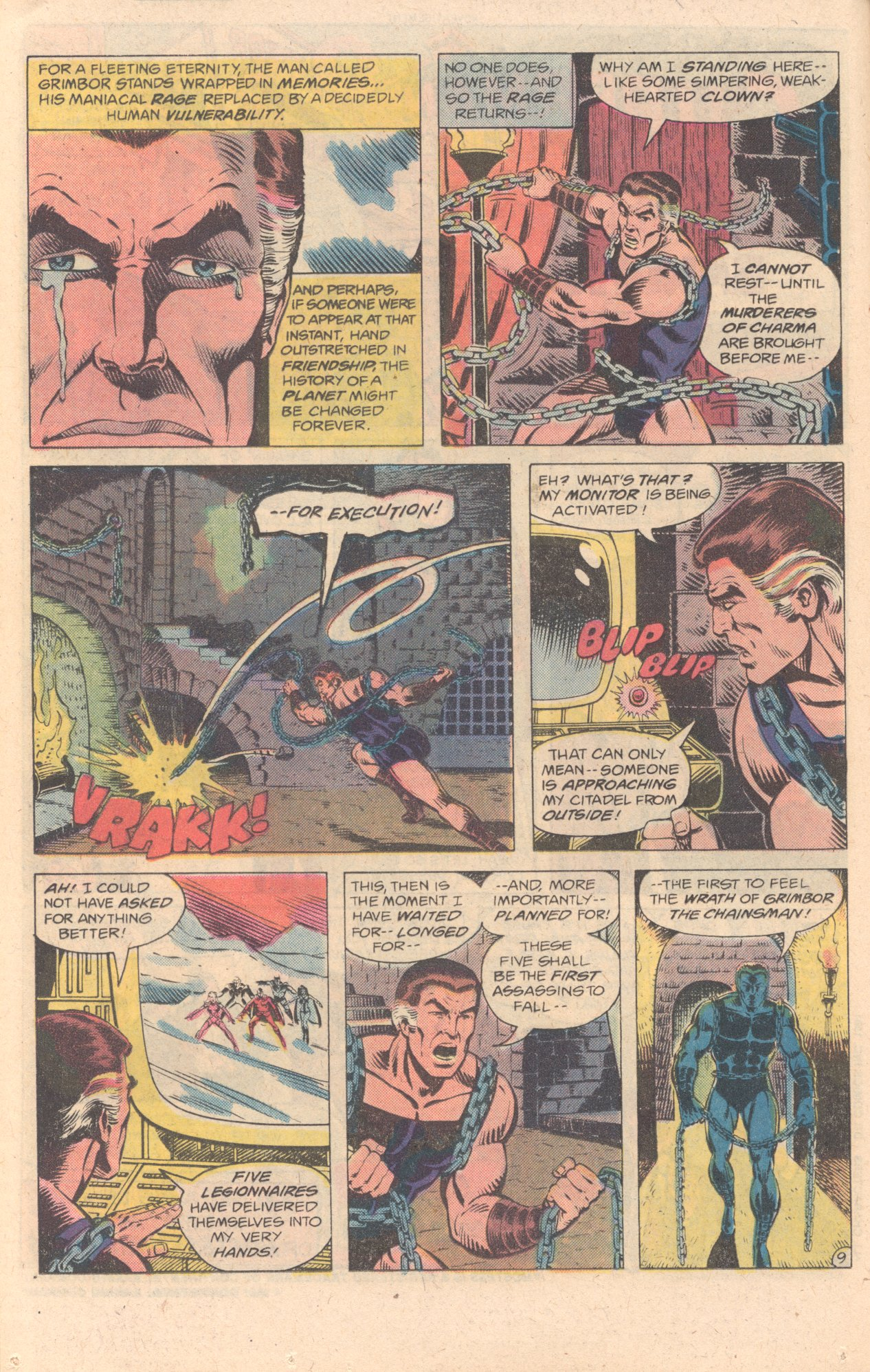 Legion of Super-Heroes (1980) 278 Page 9