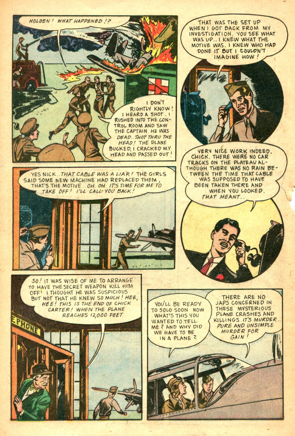 Read online Shadow Comics comic -  Issue #47 - 31