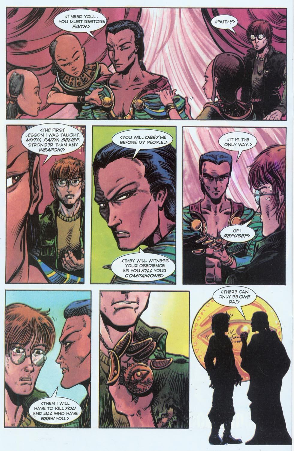 Read online Stargate comic -  Issue #3 - 14
