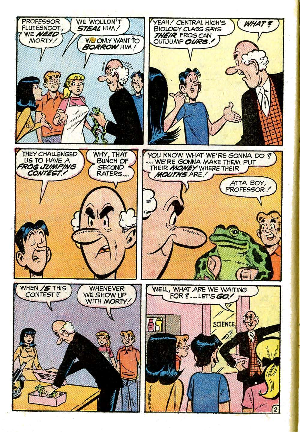 Read online Archie (1960) comic -  Issue #210 - 14