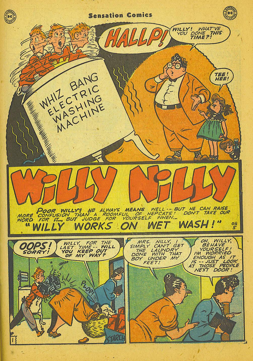 Read online Sensation (Mystery) Comics comic -  Issue #66 - 33