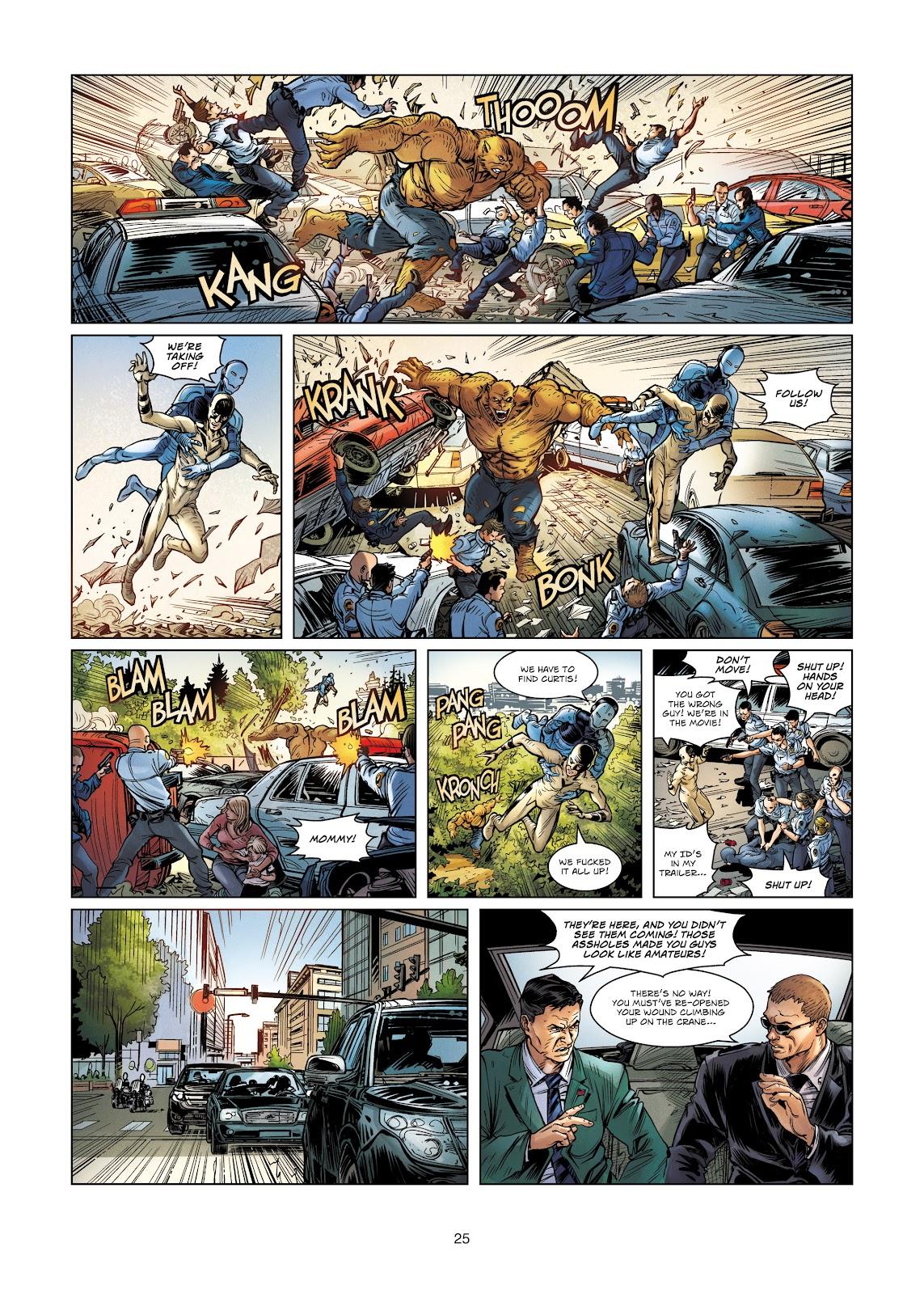 Read online Vigilantes comic -  Issue #4 - 25