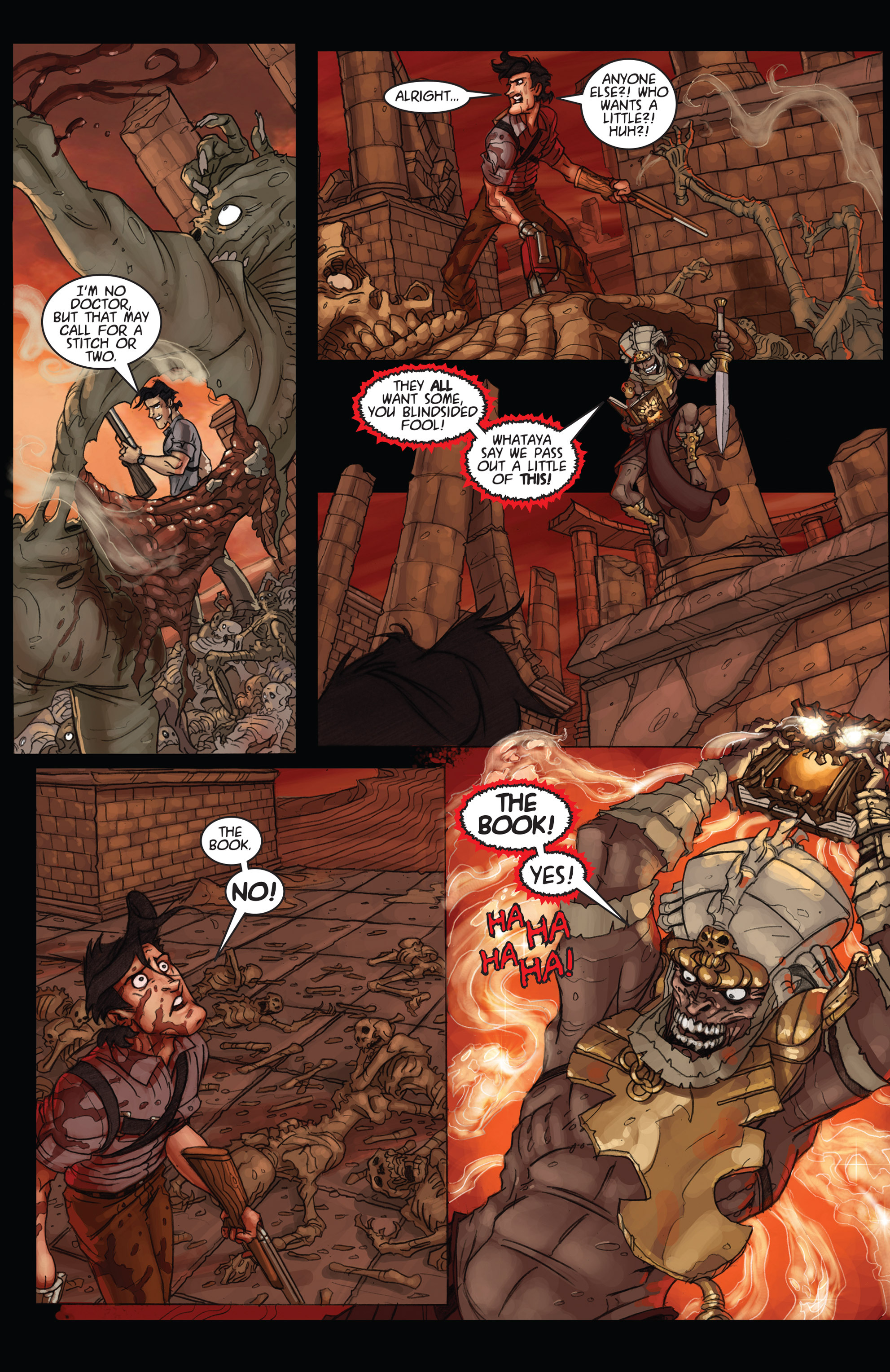 Read online Army of Darkness: Ashes 2 Ashes comic -  Issue #4 - 16