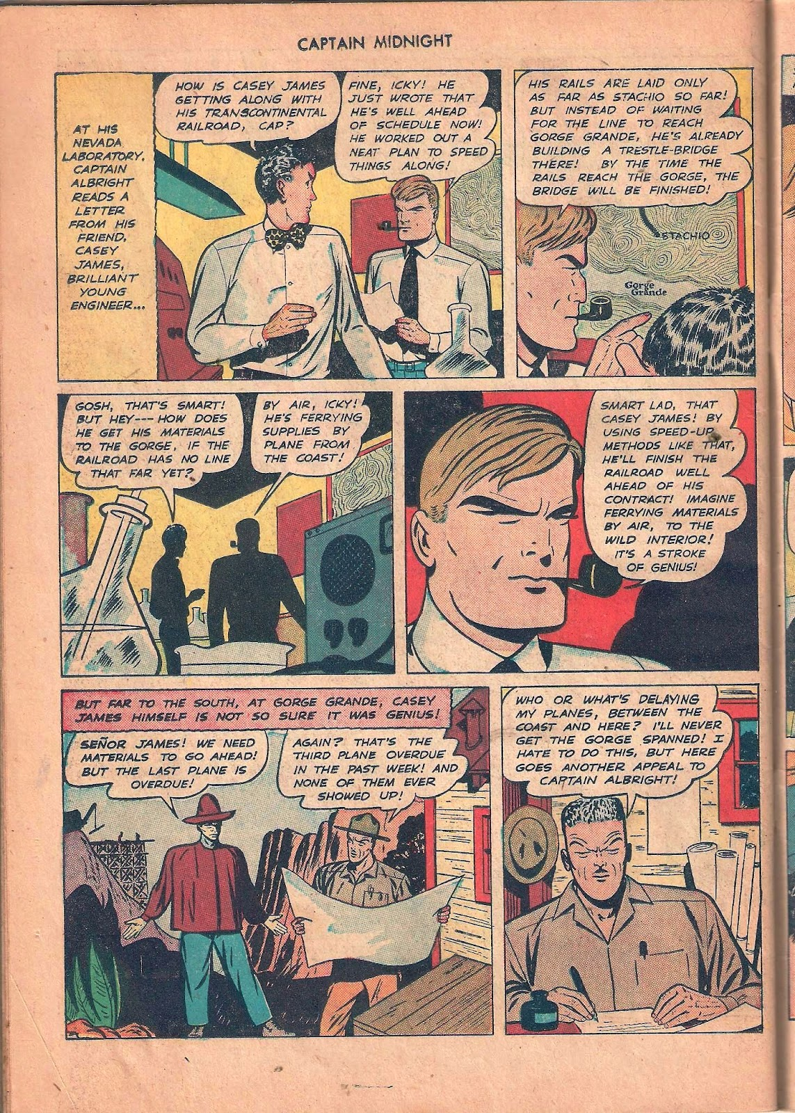 Captain Midnight (1942) issue 53 - Page 42
