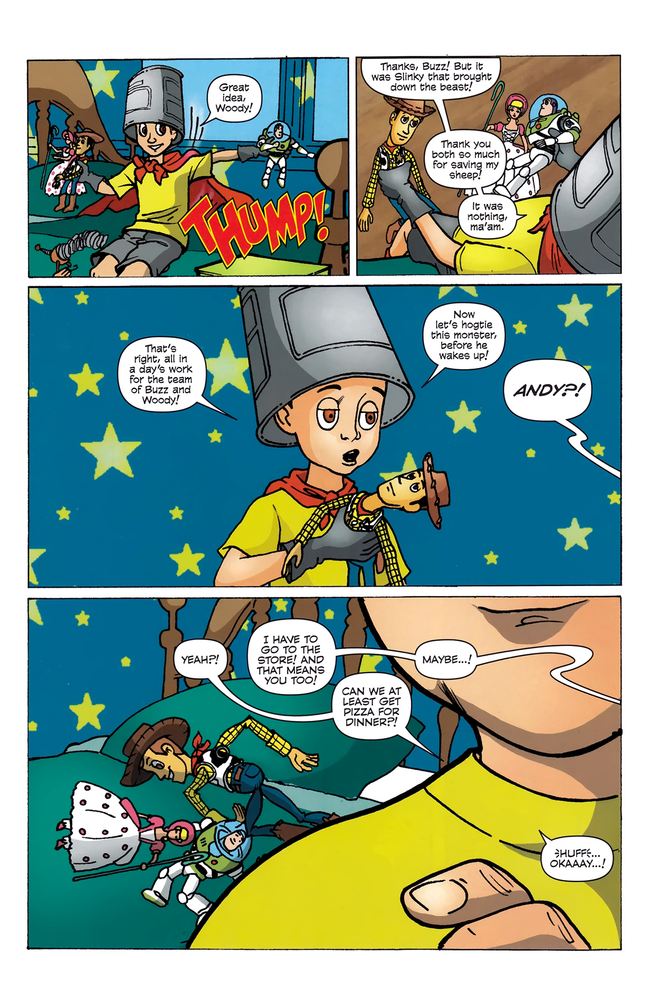 Read online Toy Story (2009) comic -  Issue #4 - 8