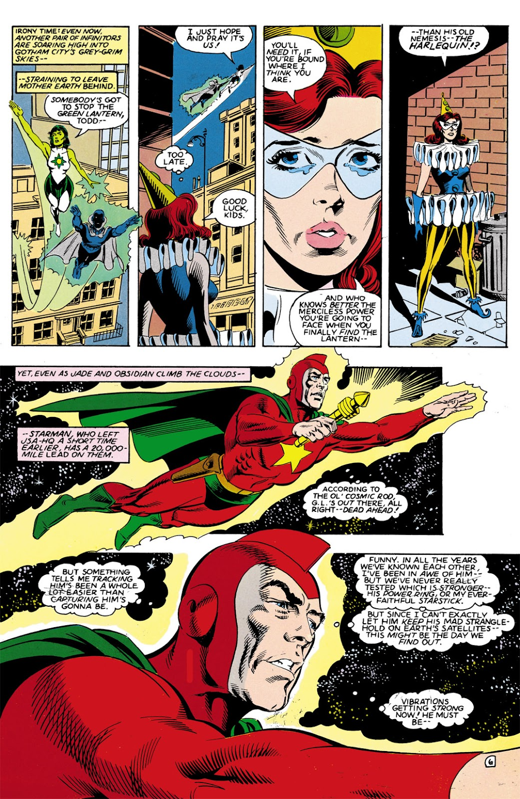 Infinity Inc. (1984) issue 9 - Page 6