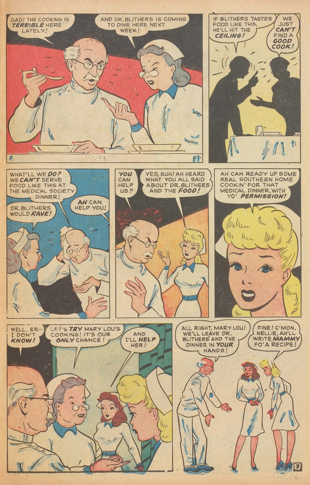Read online Nellie The Nurse (1945) comic -  Issue #15 - 29