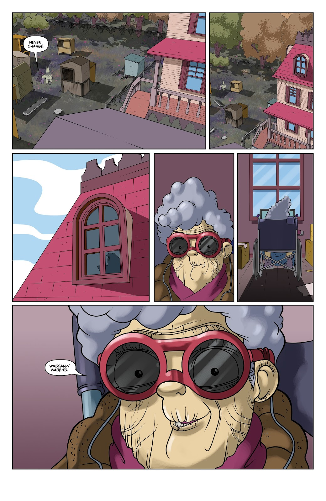 Read online Auntie Agatha's Home For Wayward Rabbits comic -  Issue #6 - 22
