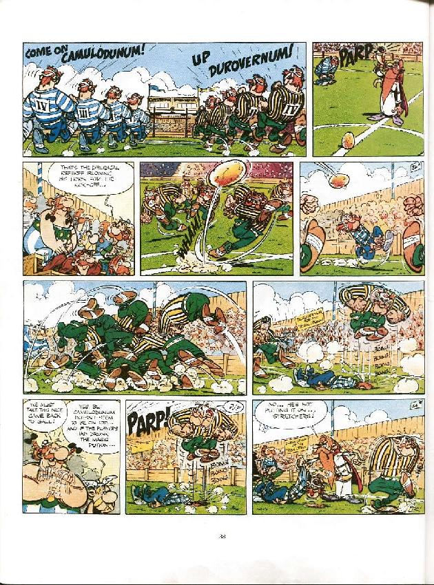 Read online Asterix comic -  Issue #8 - 35