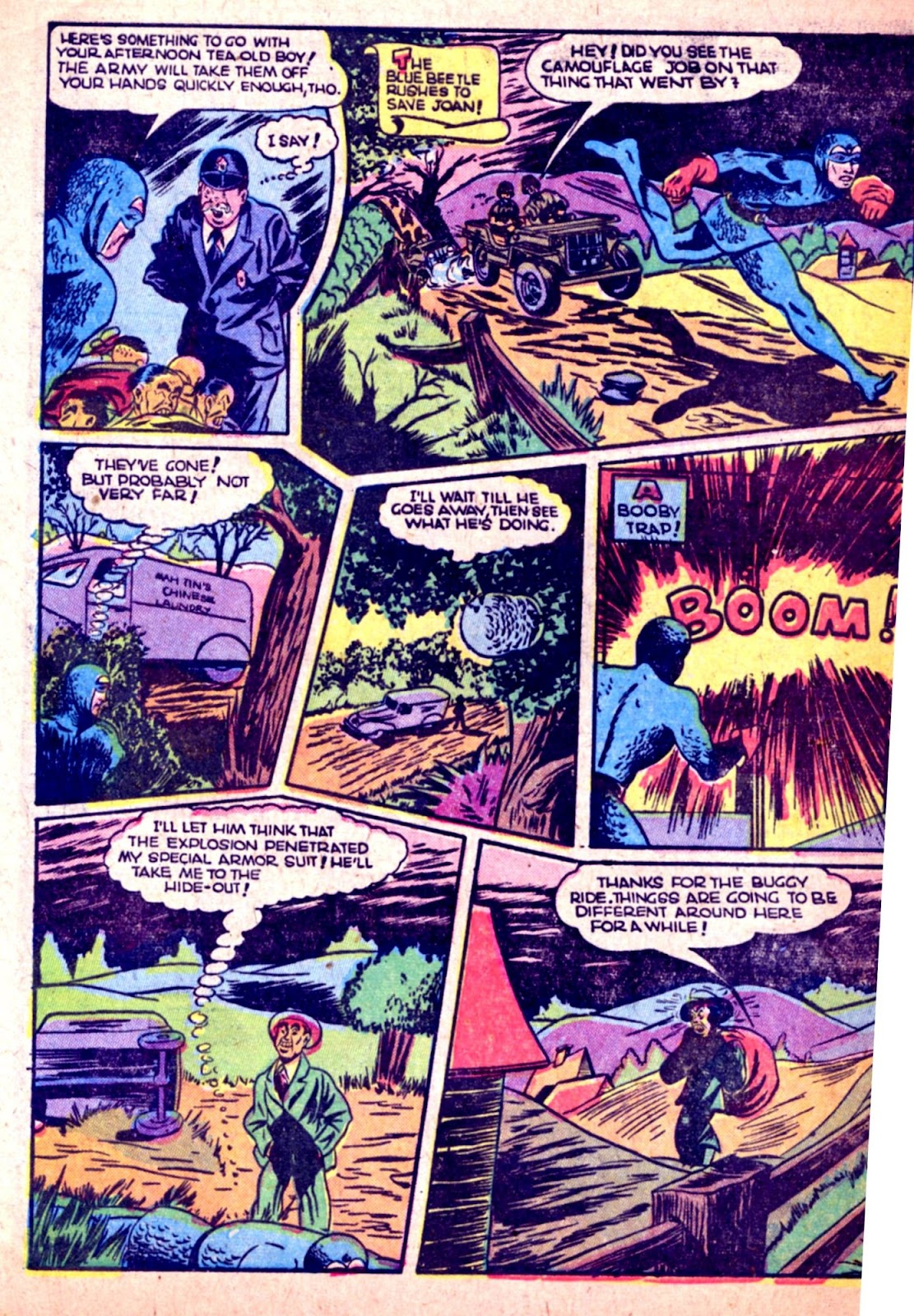 The Blue Beetle issue 31 - Page 46