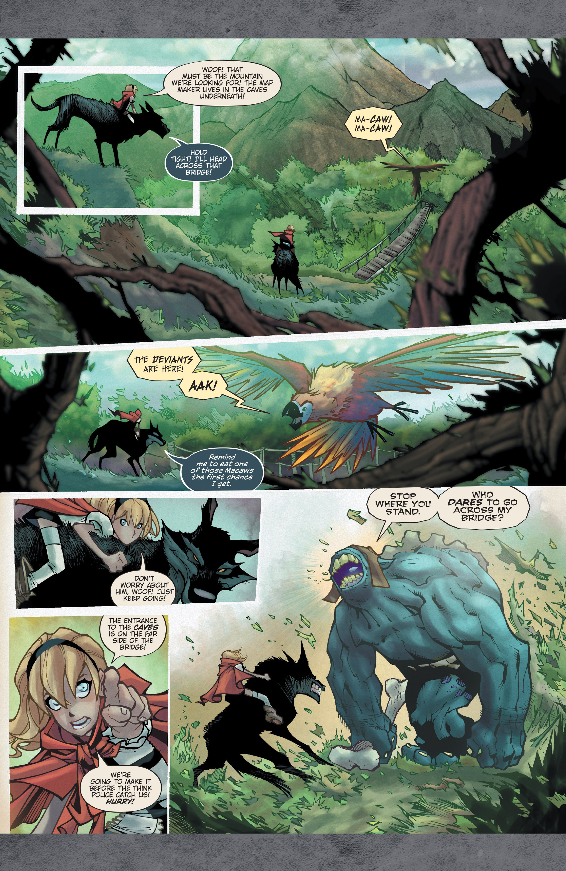 Read online Fairy Quest: Outcasts comic -  Issue #1 - 19