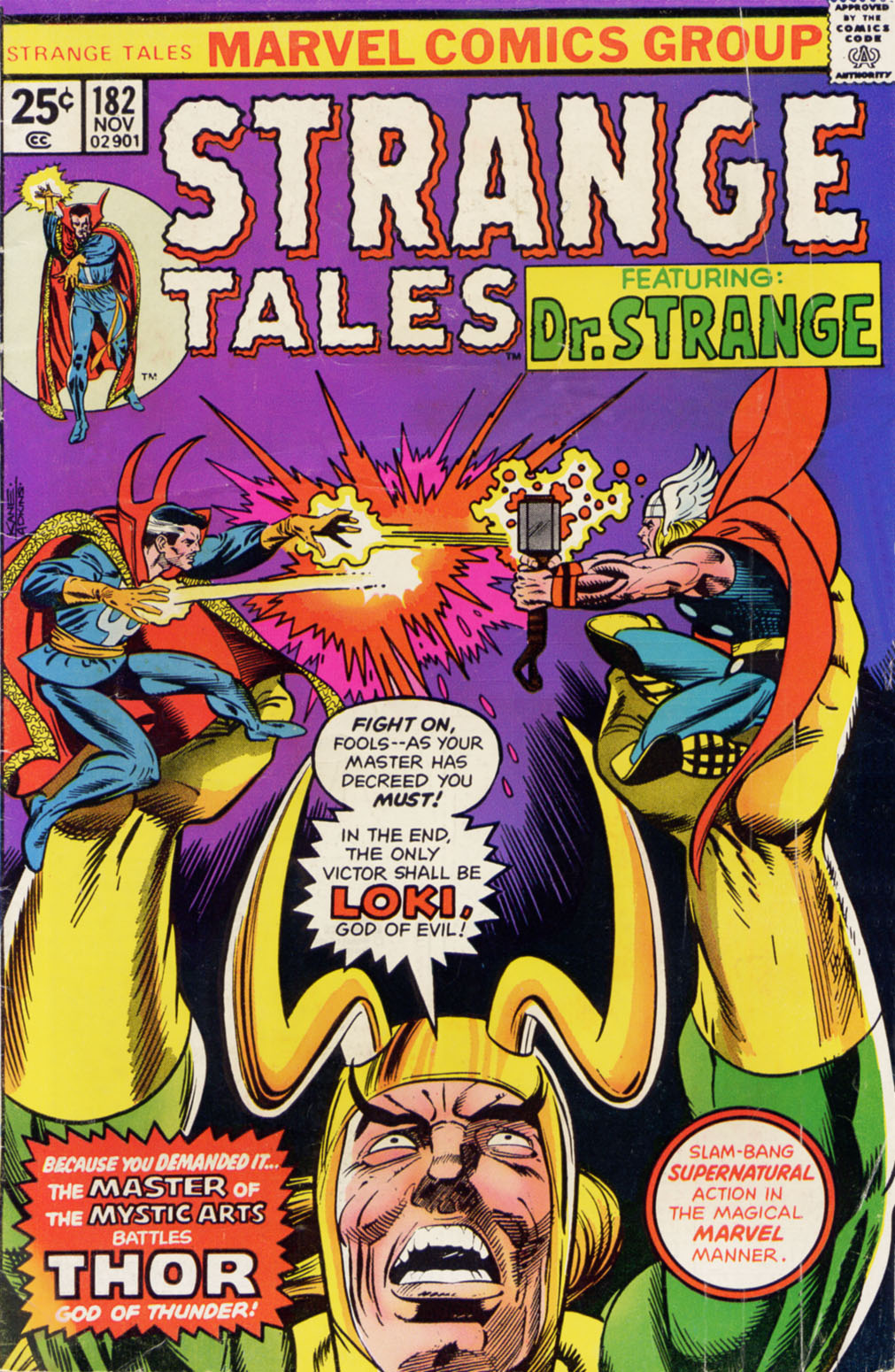 Strange Tales (1951) issue 182 - Page 1