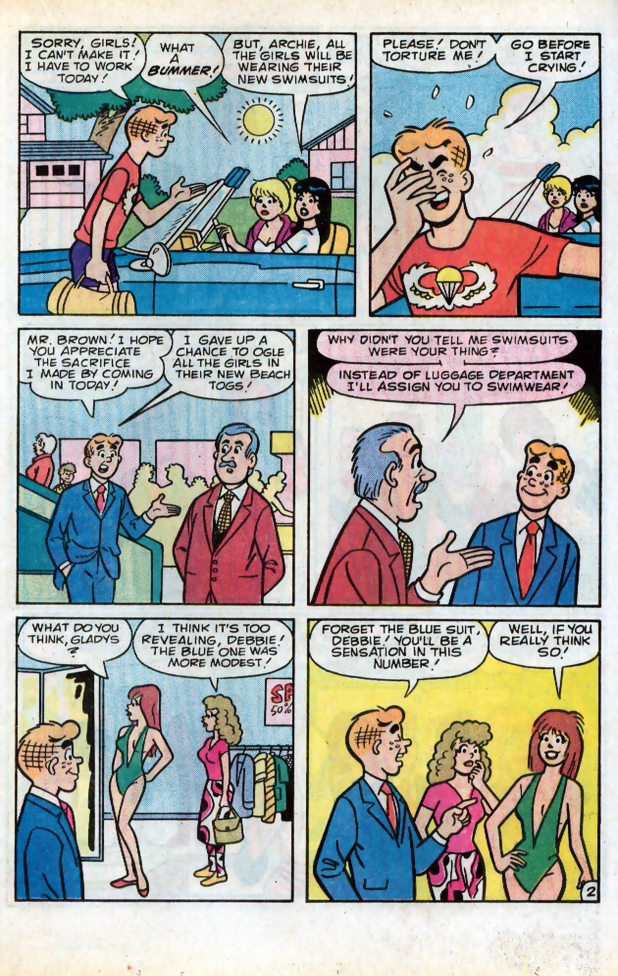 Read online Archie (1960) comic -  Issue #331 - 16