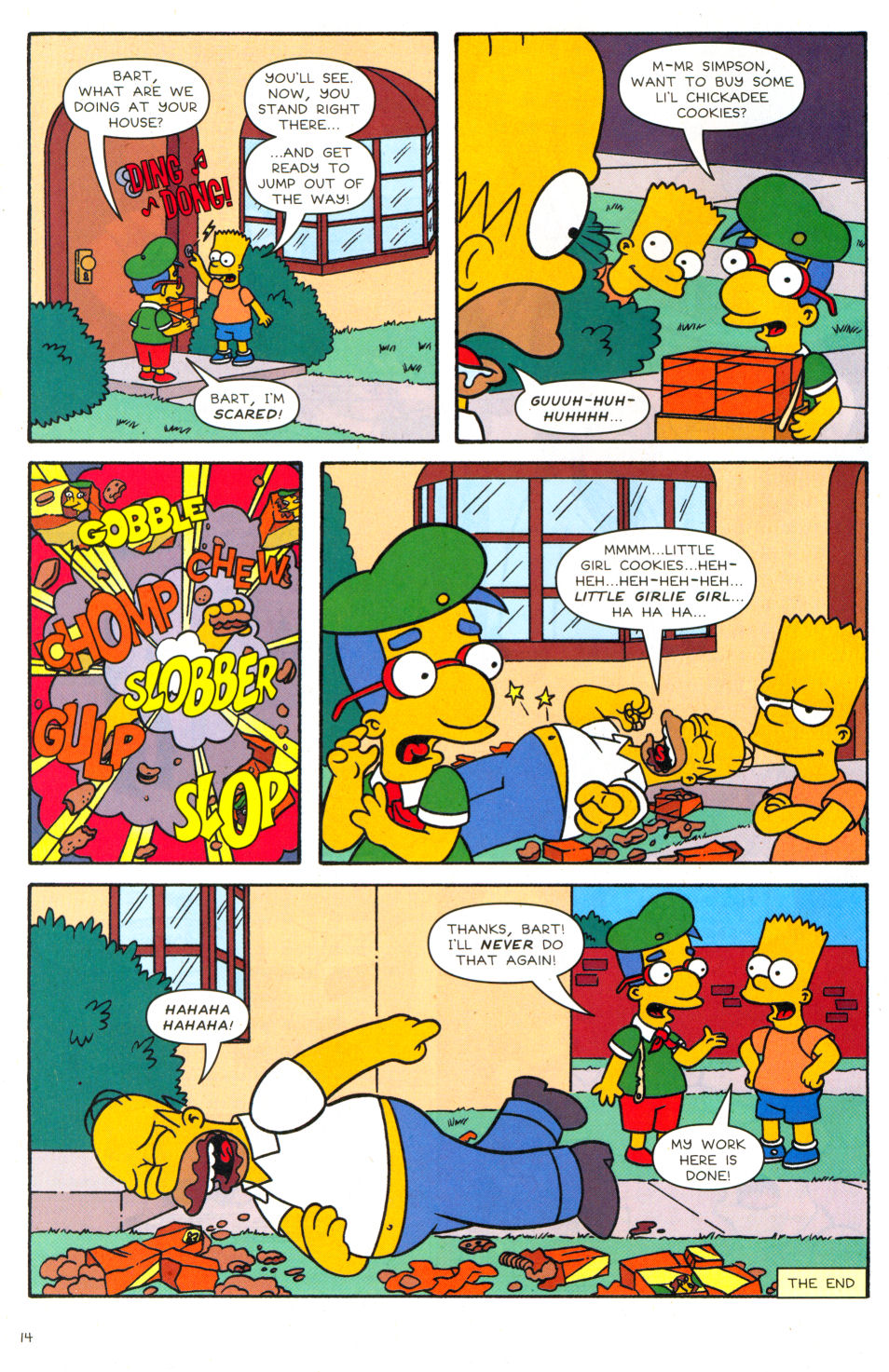 Read online Simpsons Comics Presents Bart Simpson comic -  Issue #28 - 13