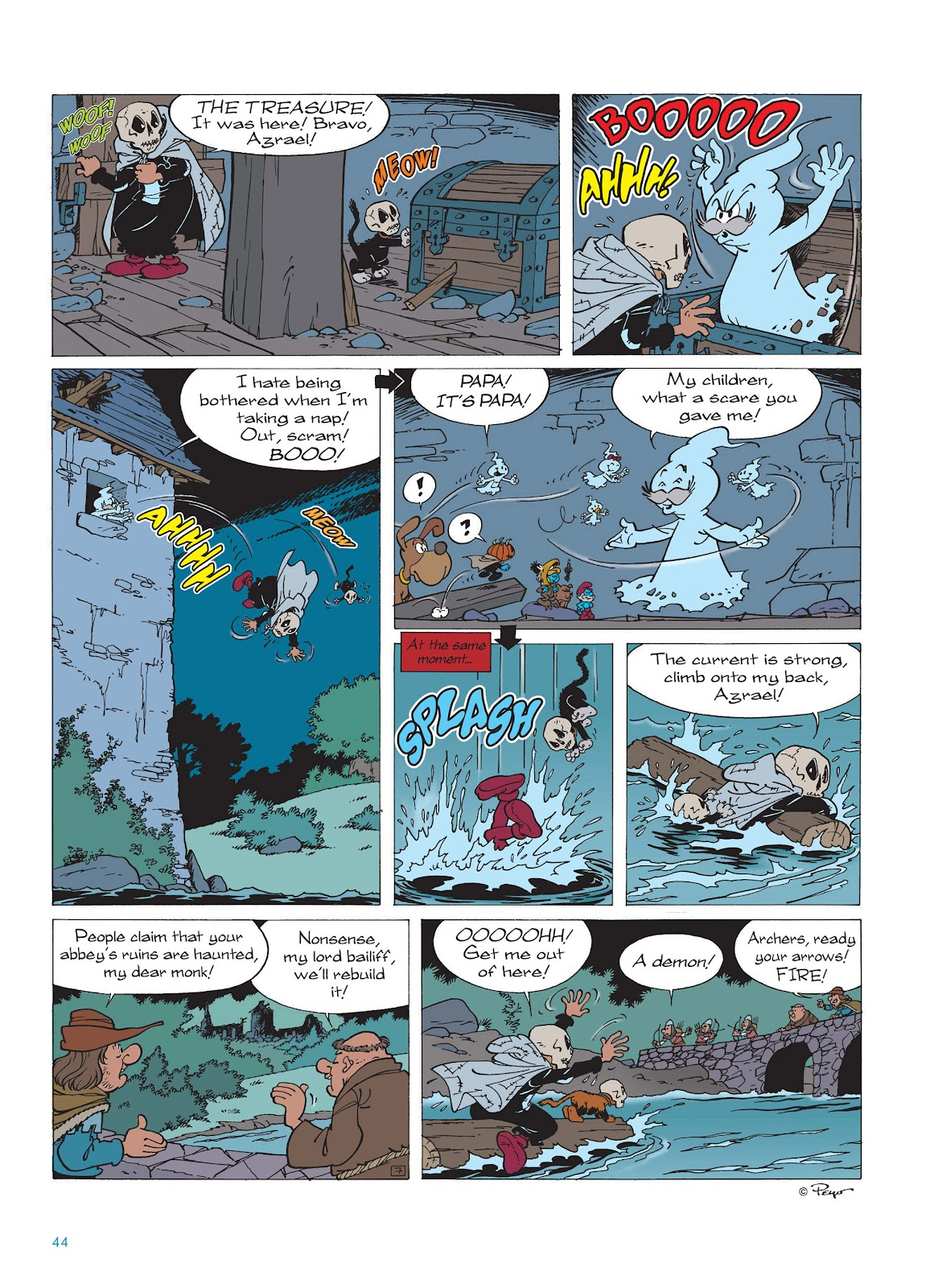 Read online The Smurfs comic -  Issue #15 - 45
