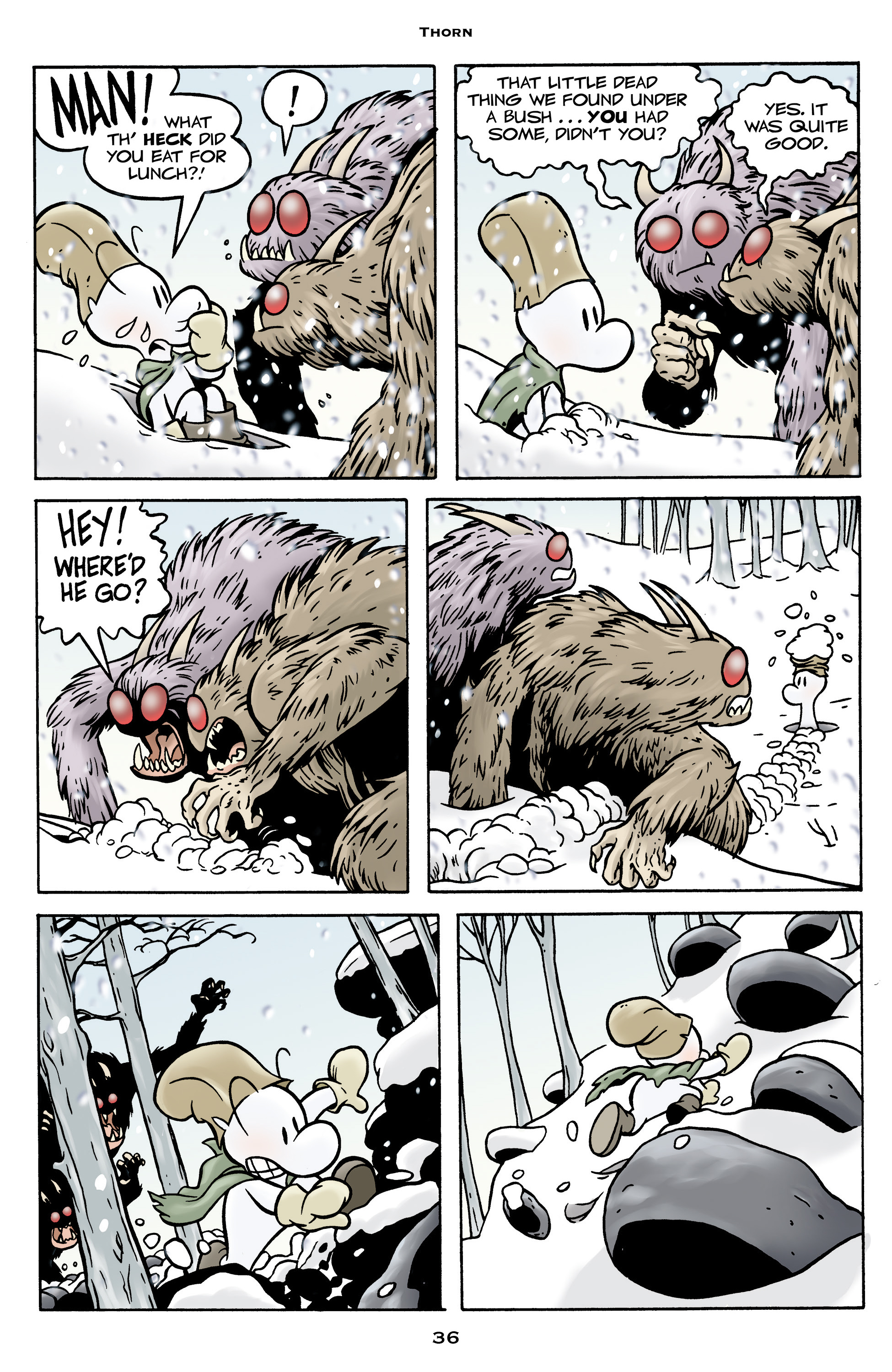 Read online Bone: Out From Boneville comic -  Issue # TPB - 36