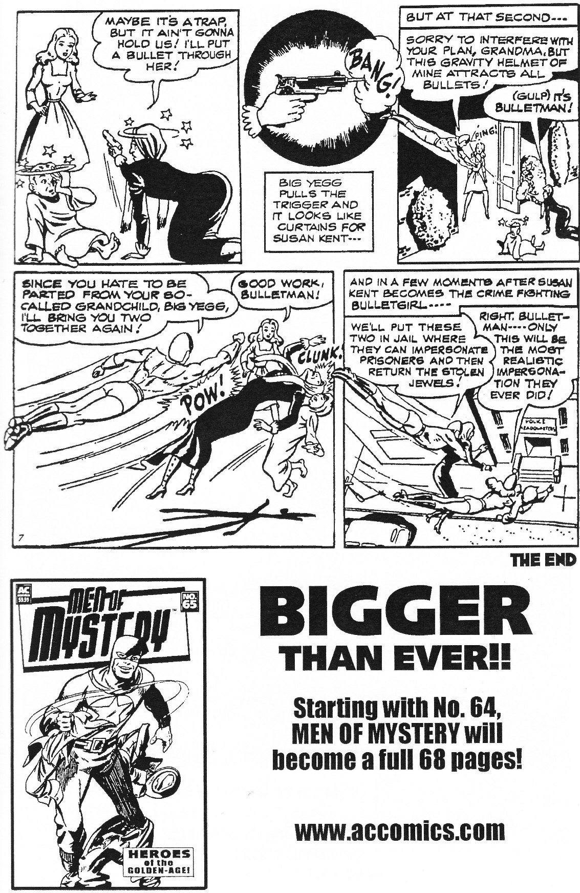 Read online Men of Mystery Comics comic -  Issue #63 - 33