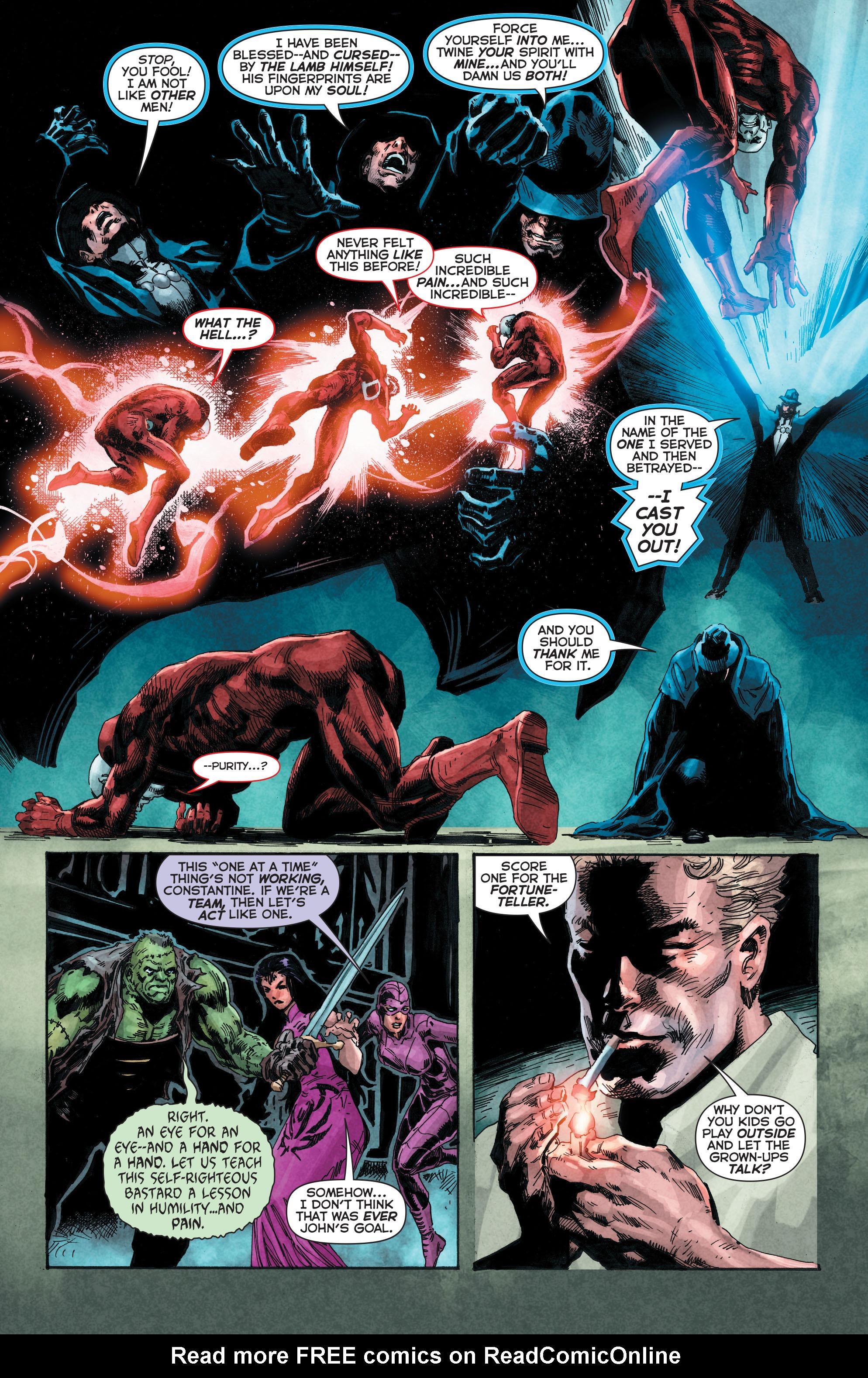 Read online Trinity of Sin: The Phantom Stranger comic -  Issue #4 - 13