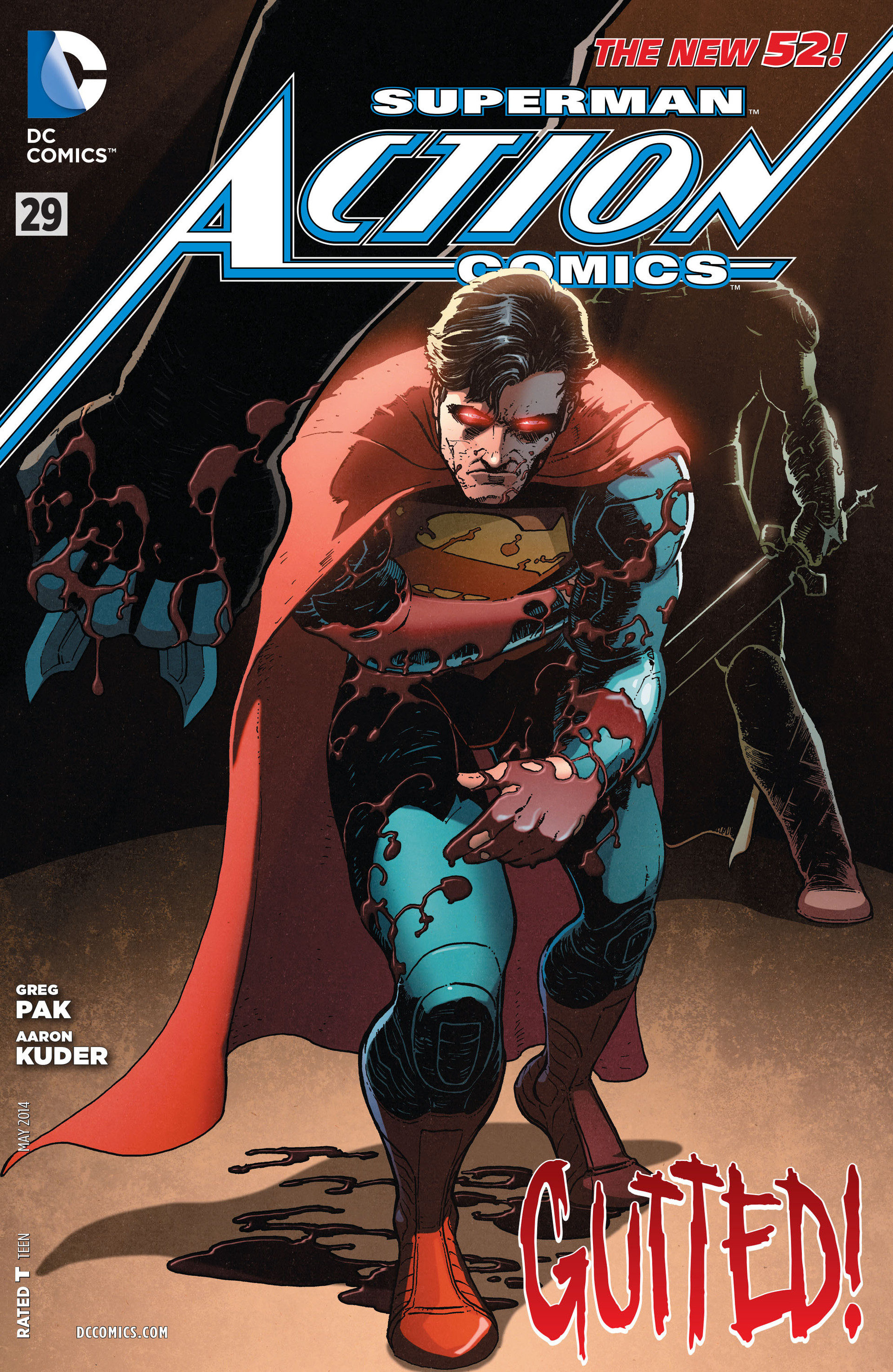Read online Action Comics (2011) comic -  Issue #29 - 1