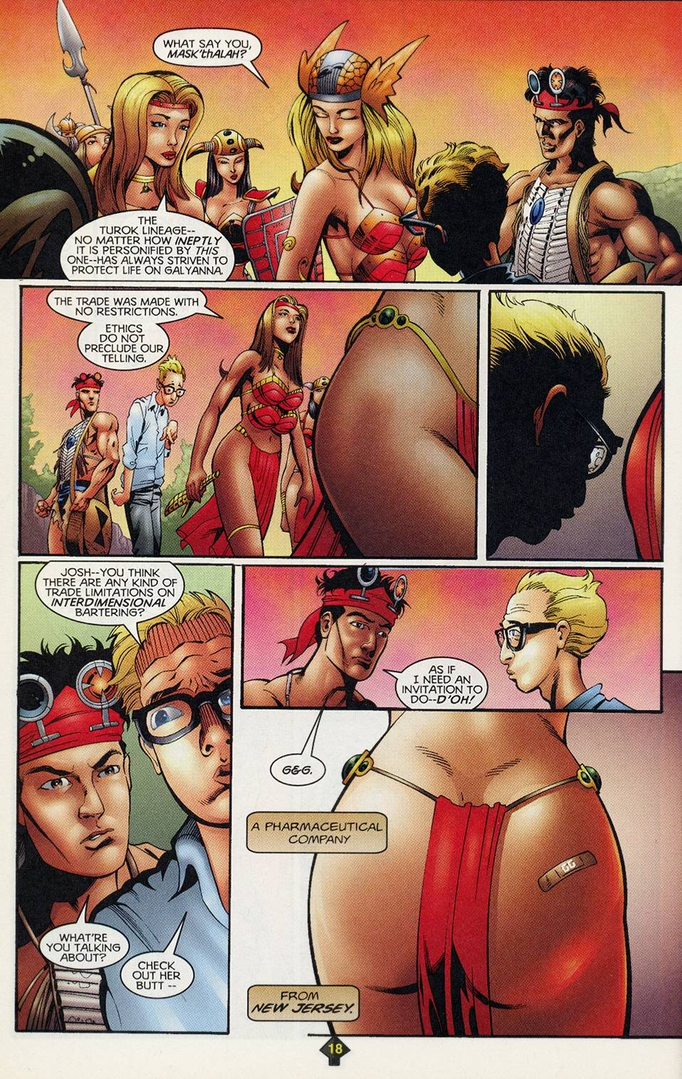 Read online Turok comic -  Issue #3 - 18