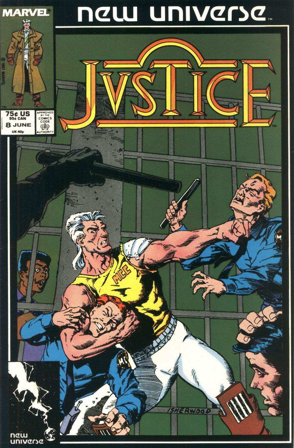 Read online Justice (1986) comic -  Issue #8 - 1