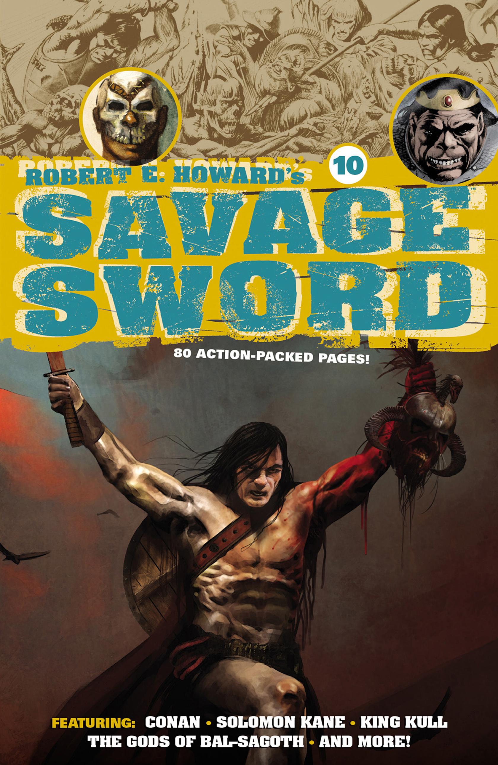 Robert E. Howards Savage Sword 10 Page 1