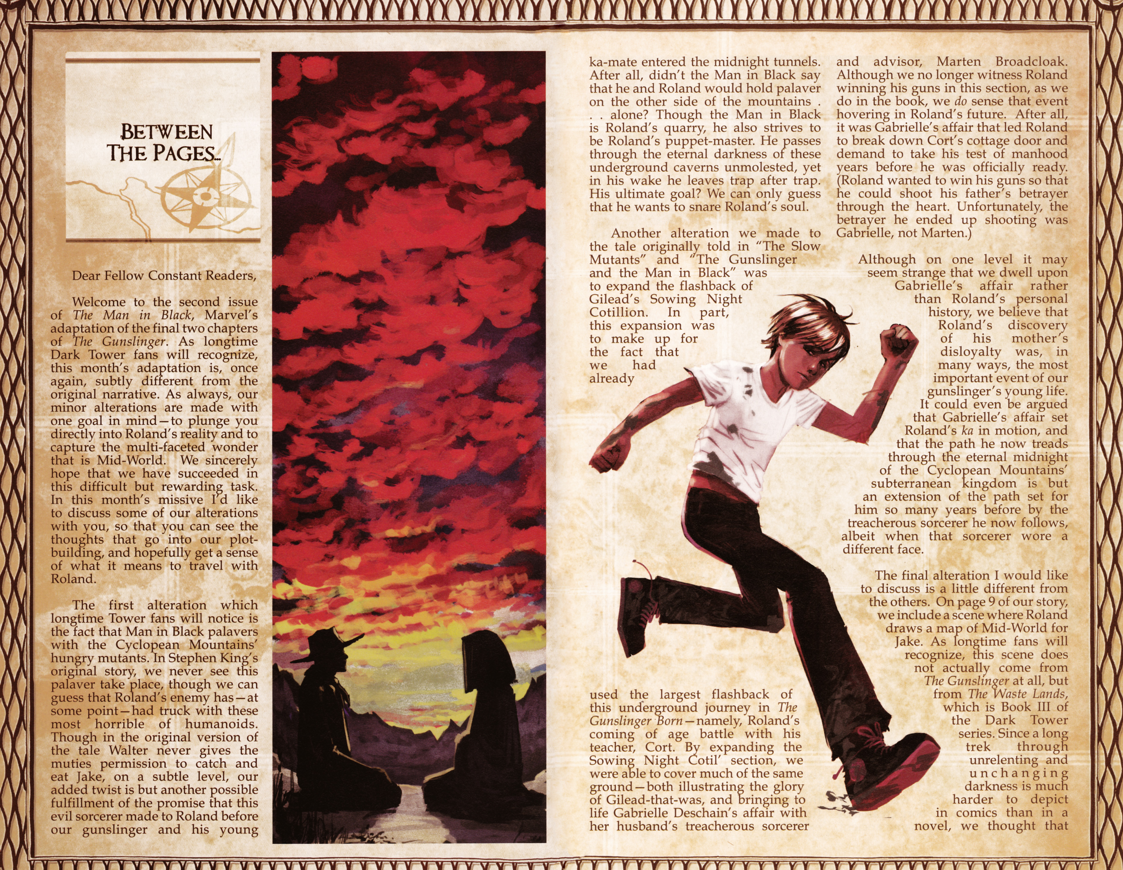 Read online Dark Tower: The Gunslinger - The Man in Black comic -  Issue #2 - 25