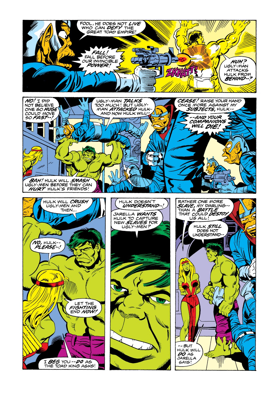 Read online Marvel Masterworks: The Incredible Hulk comic -  Issue # TPB 11 (Part 2) - 46
