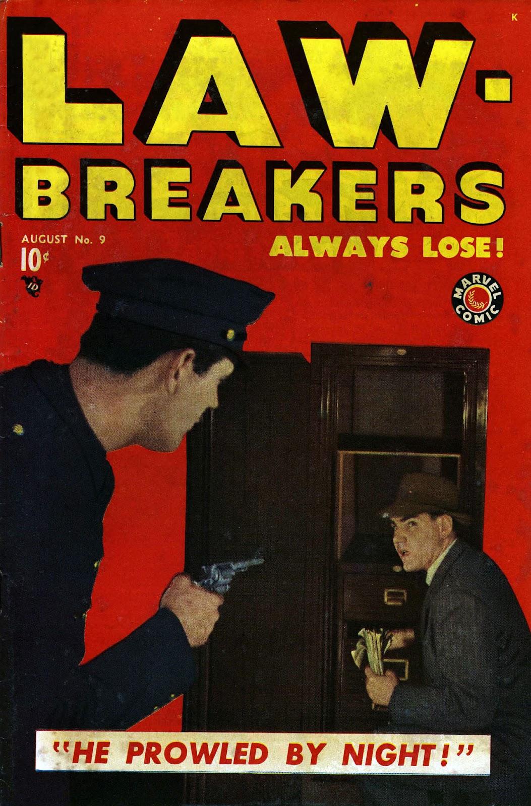 Lawbreakers Always Lose! issue 9 - Page 1