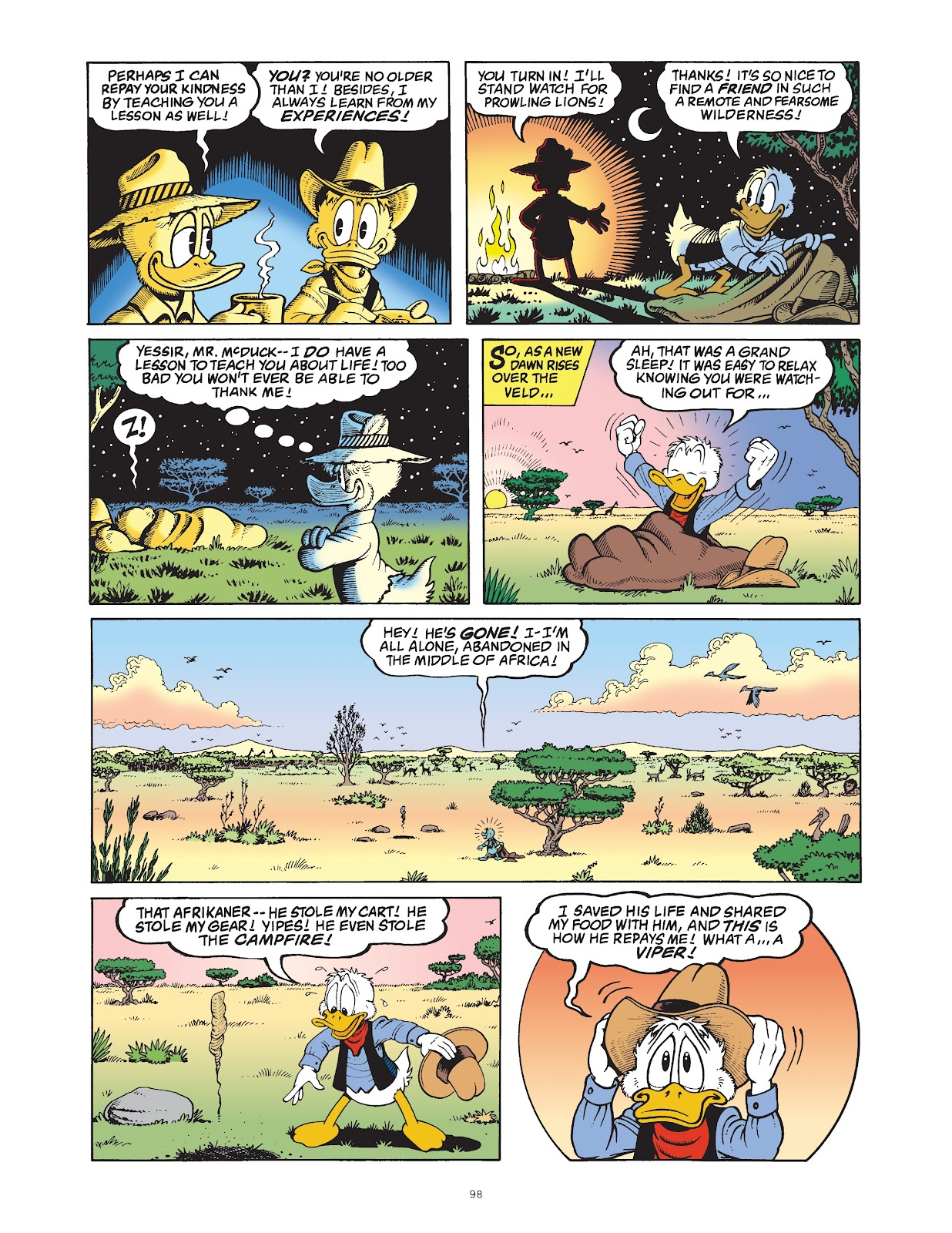 Read online The Complete Life and Times of Scrooge McDuck comic -  Issue # TPB 1 (Part 1) - 100