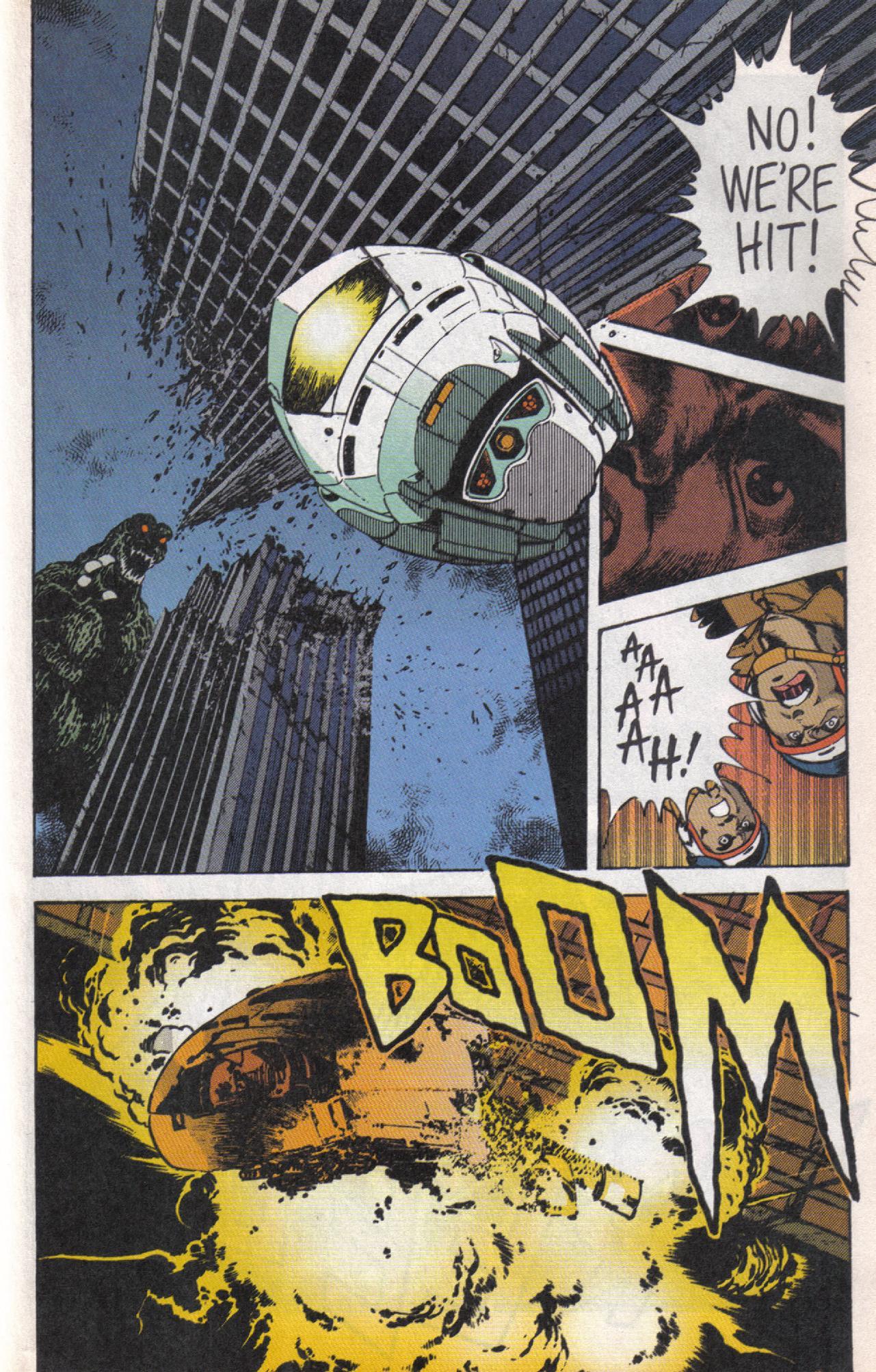 Read online Dark Horse Classics: Terror of Godzilla comic -  Issue #5 - 20