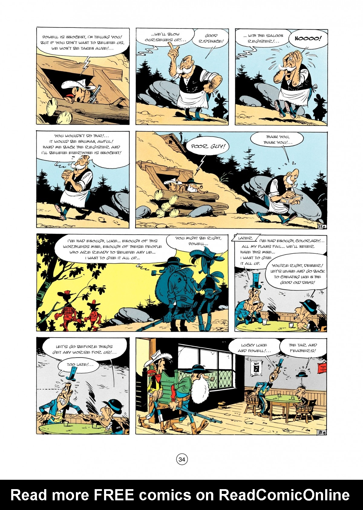 Read online A Lucky Luke Adventure comic -  Issue #2 - 36