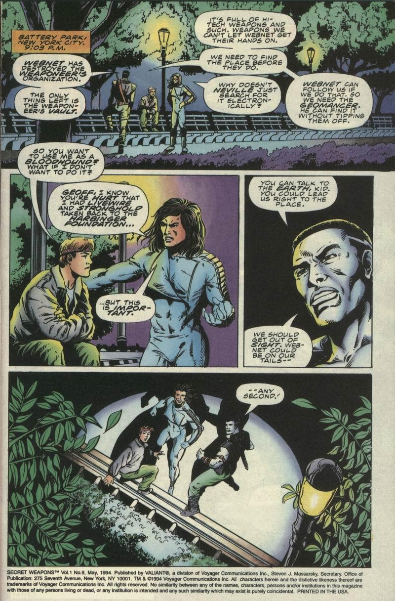 Read online Secret Weapons comic -  Issue #9 - 2