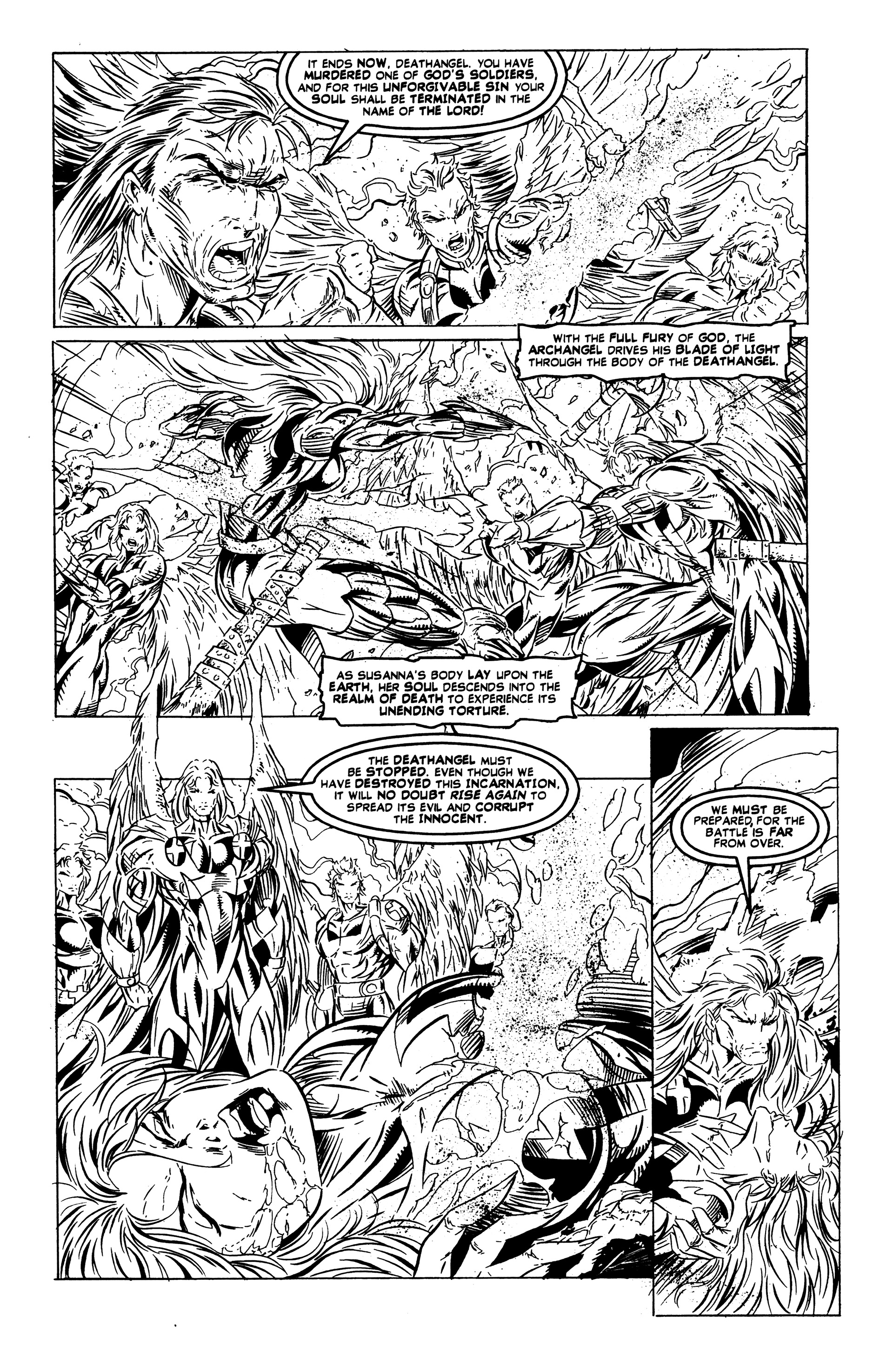 Read online DeathAngel comic -  Issue # Full - 6